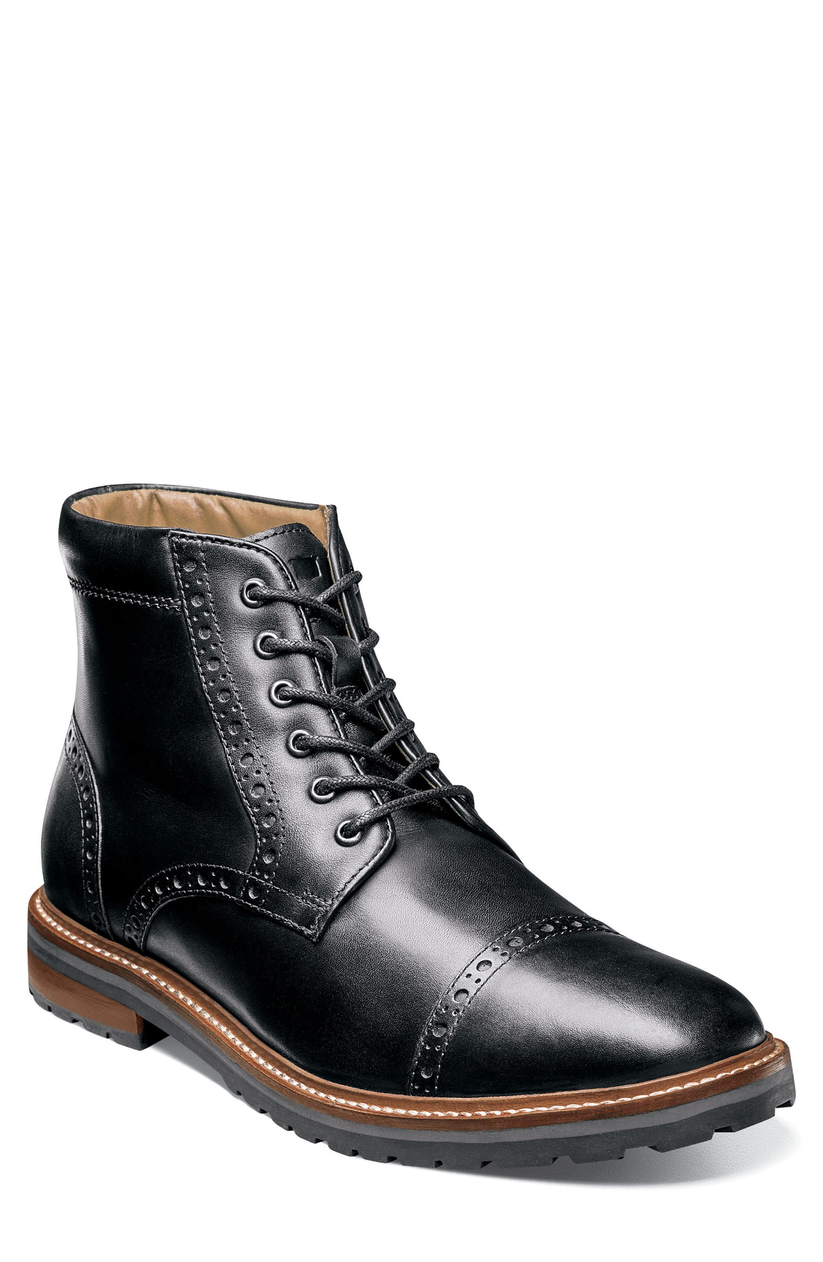 Alternate Image 1 Selected - Florsheim Estabrook Cap Toe Boot (Men)