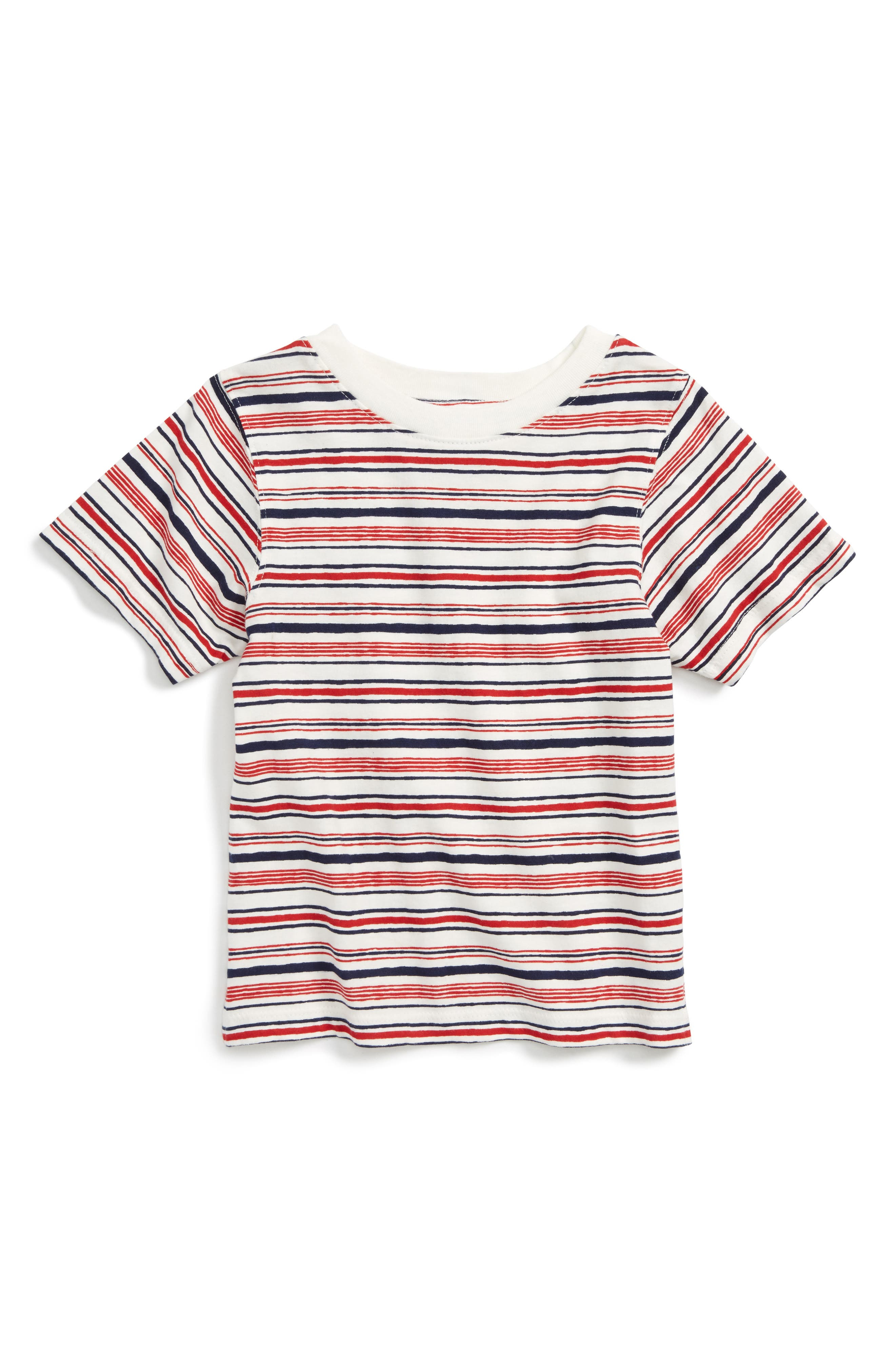Peek Stripe T-Shirt (Toddler Boys, Little Boys & Big Boys)