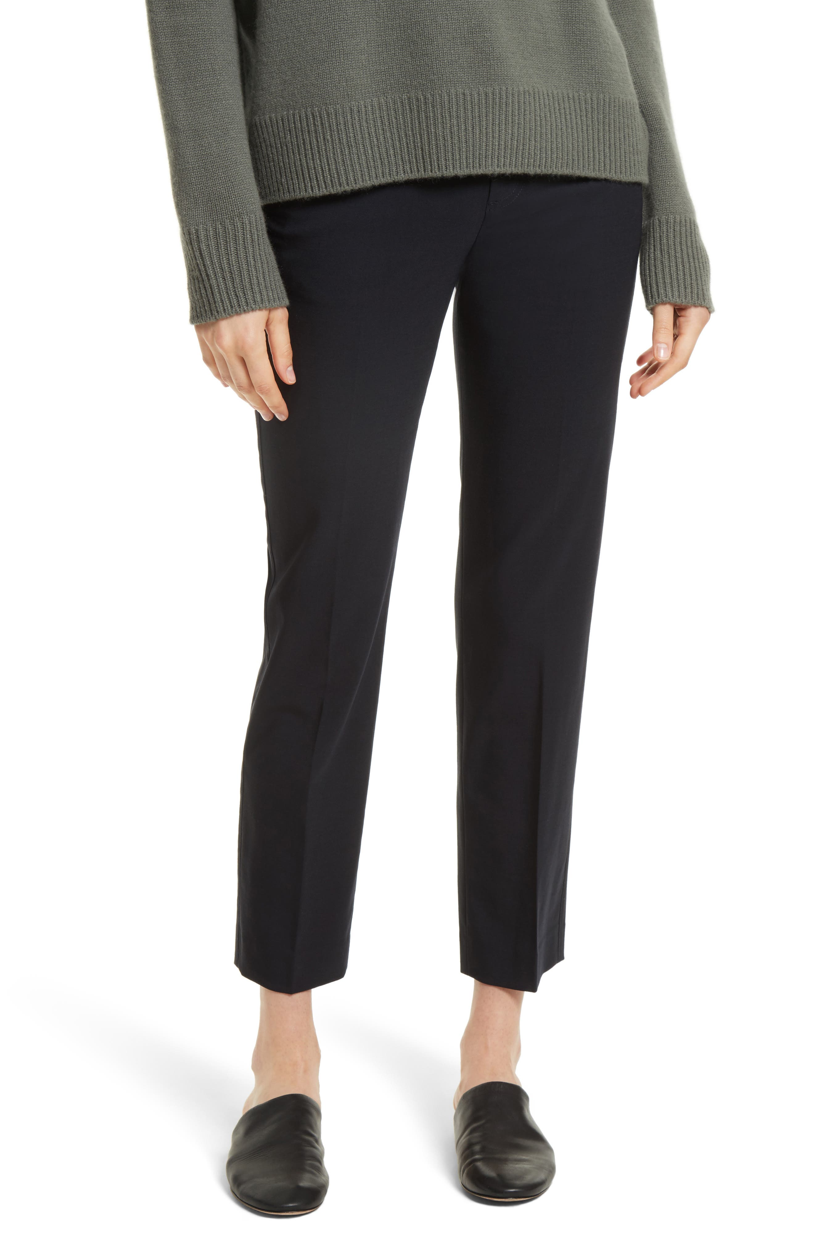 Tapered Ankle Trousers,                         Main,                         color, Coastal