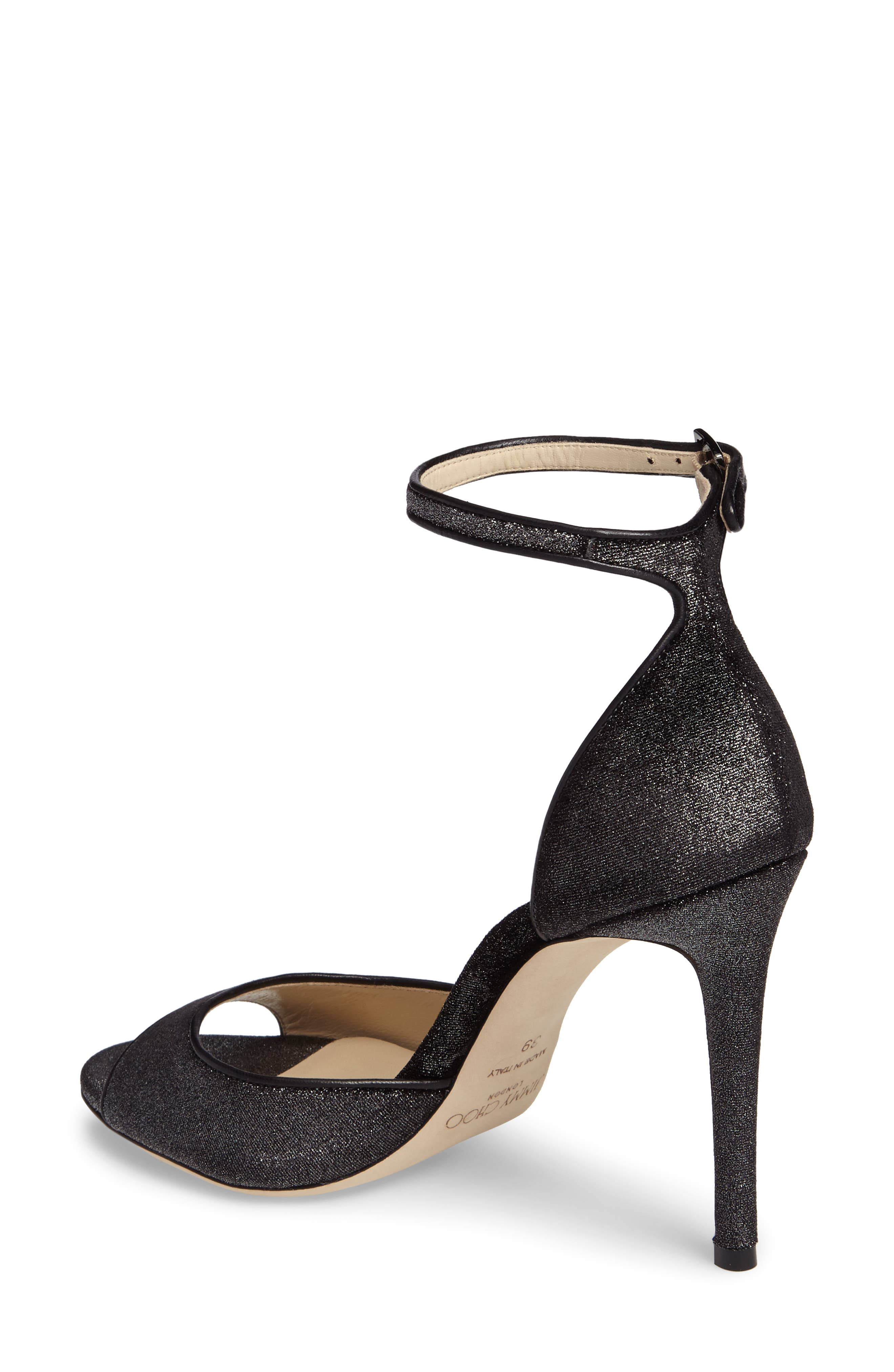 Alternate Image 2  - Jimmy Choo Annie Ankle Strap Sandal (Women)