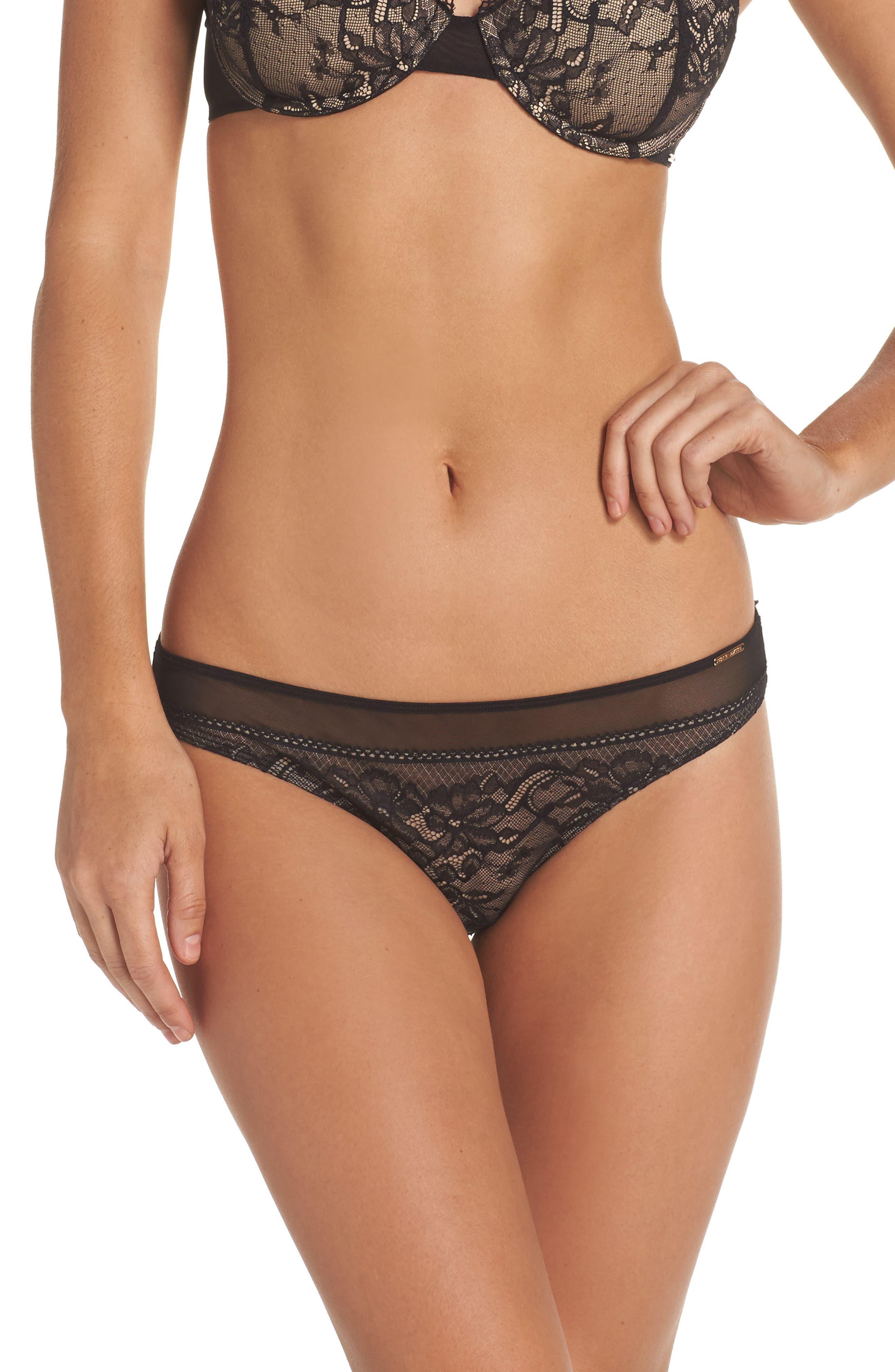 Lorelai Bikini,                             Main thumbnail 1, color,                             Black