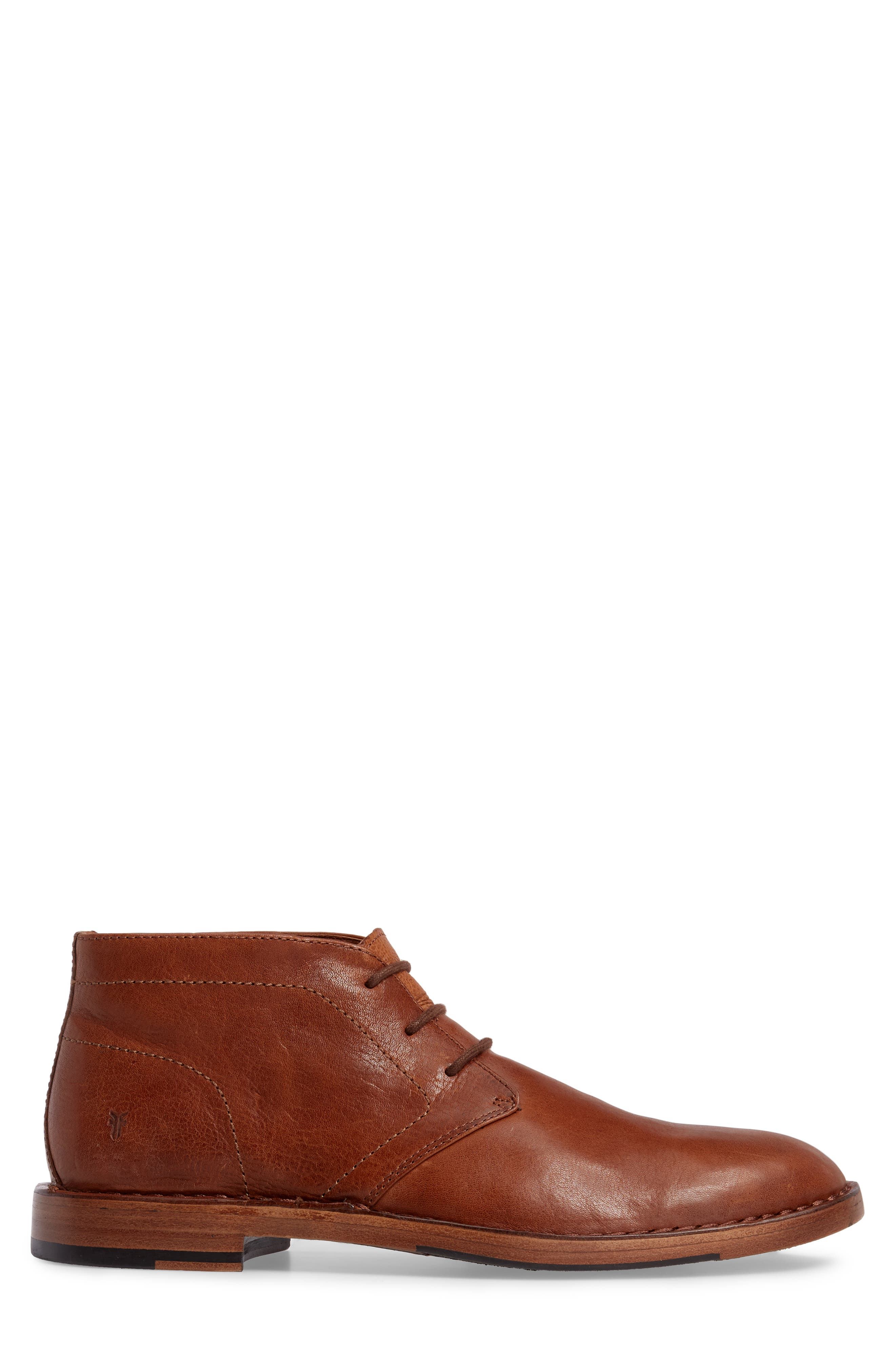 Mark Chukka Boot,                             Alternate thumbnail 3, color,                             Copper Leather