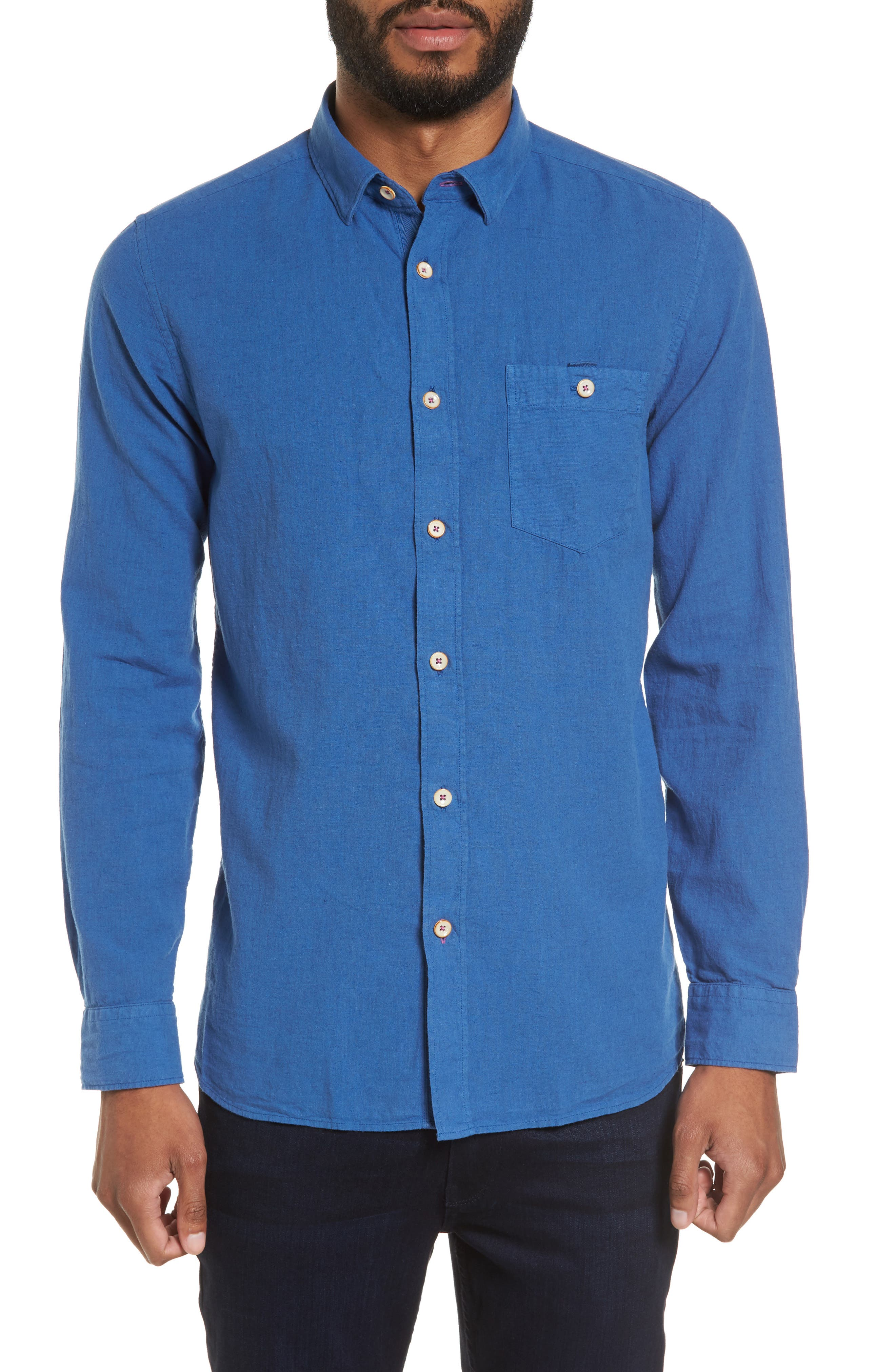 TED BAKER LONDON Carwash Modern Slim Fit Sport Shirt