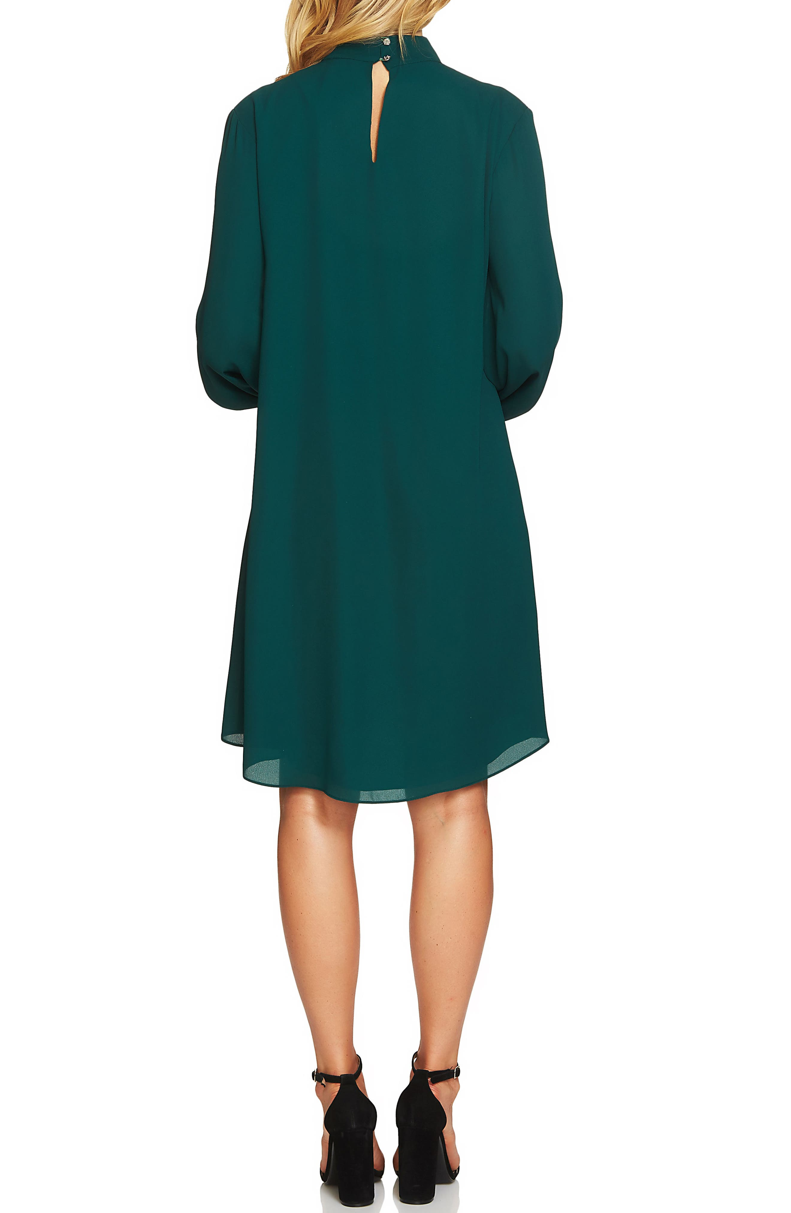 Alternate Image 2  - Cece Zoey Choker Shift Dress