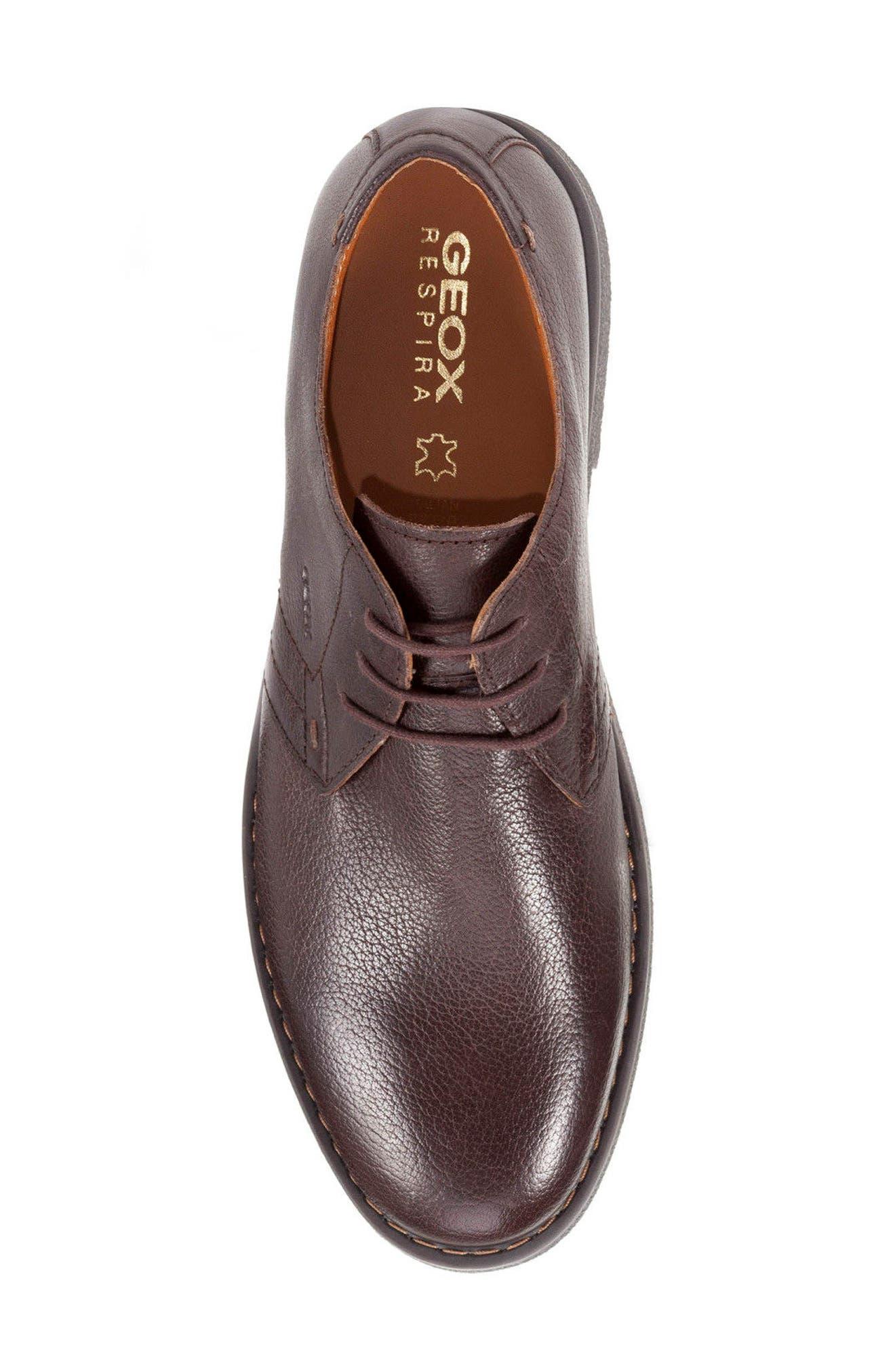 Alternate Image 4  - Geox Brandled Plain Toe Derby (Men)