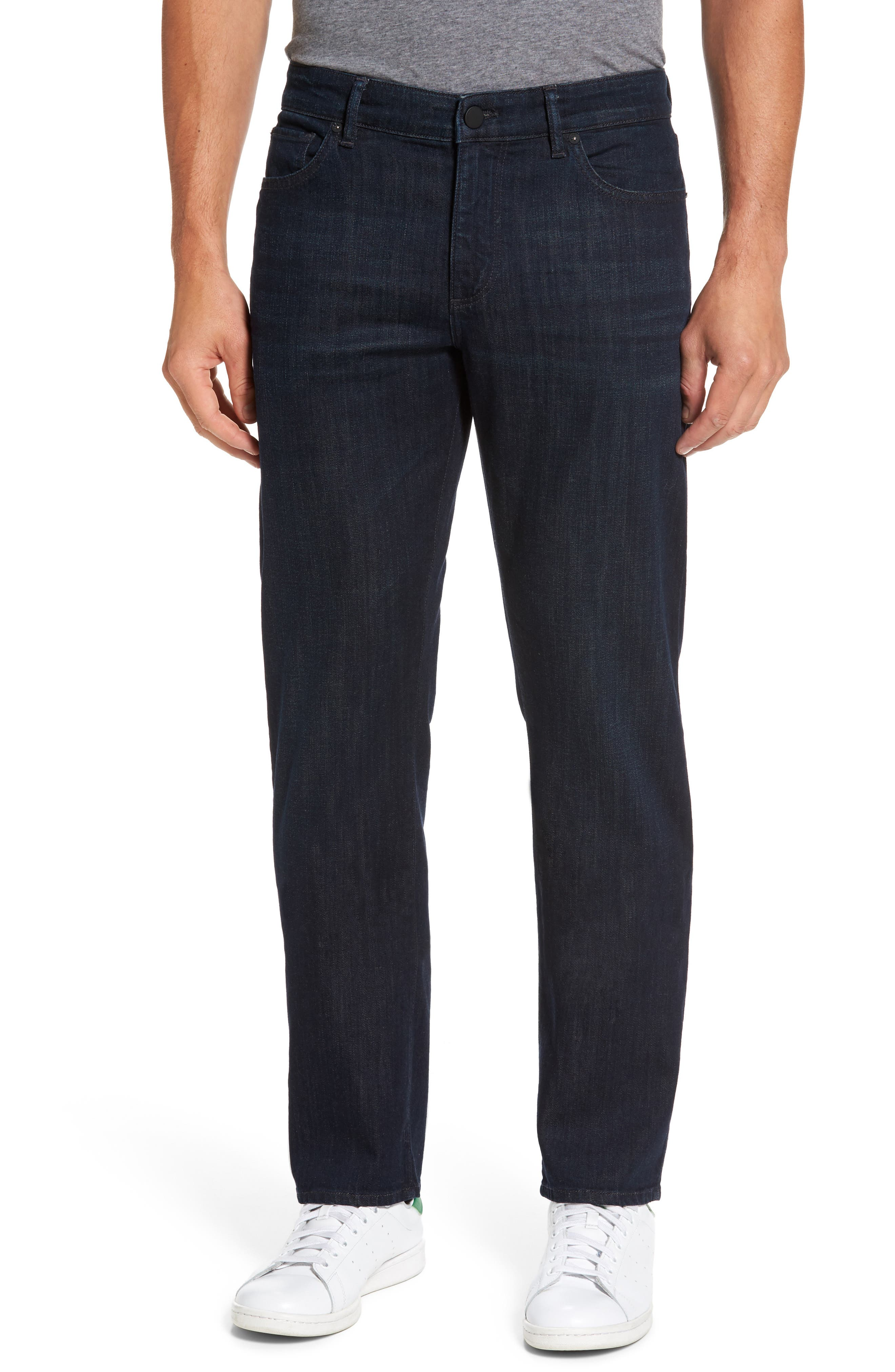 DL1961 Avery Slim Straight Leg Jeans (Breach)