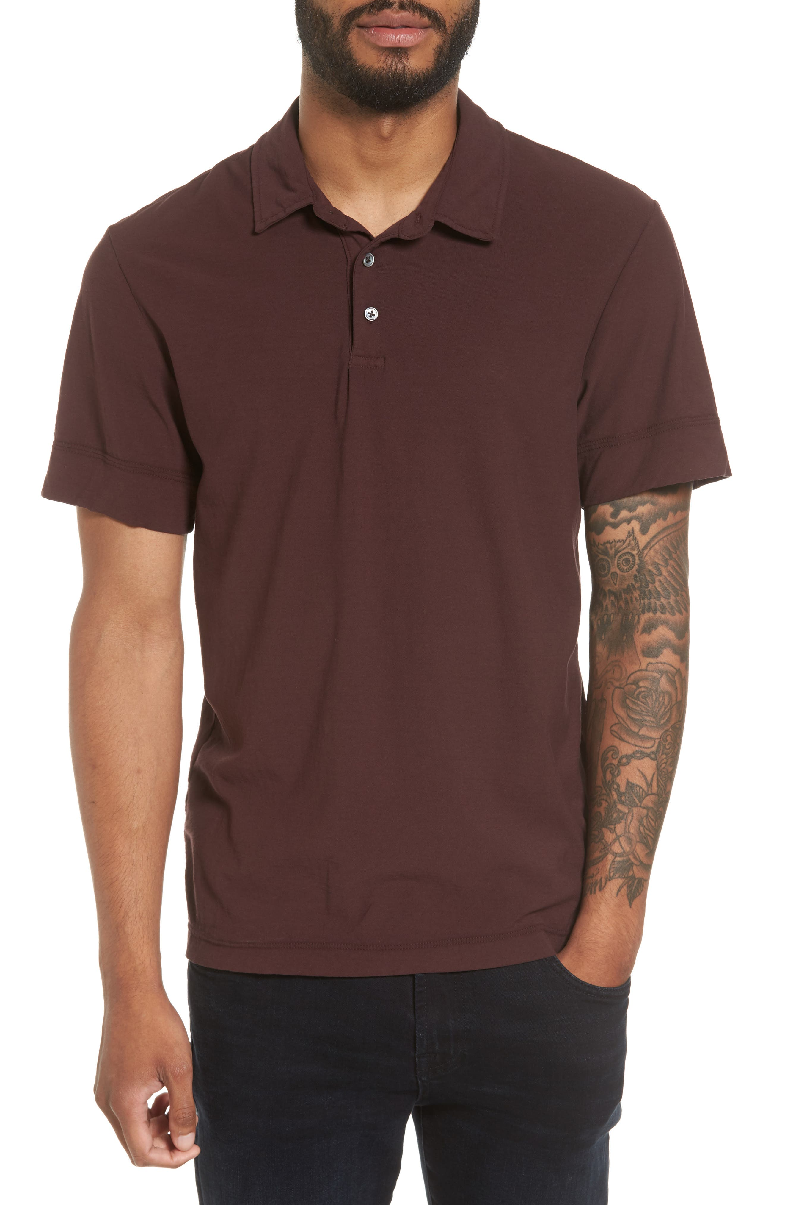 JAMES PERSE High Twist Classic Polo