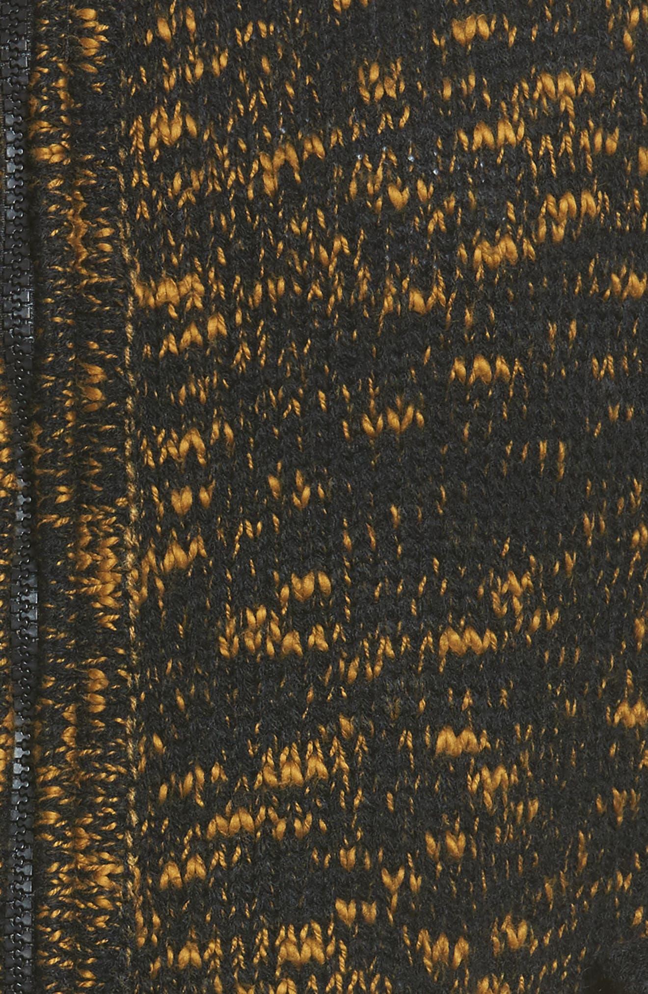 Tunnel Vision Zip Jacket,                             Alternate thumbnail 5, color,                             Olive Multi
