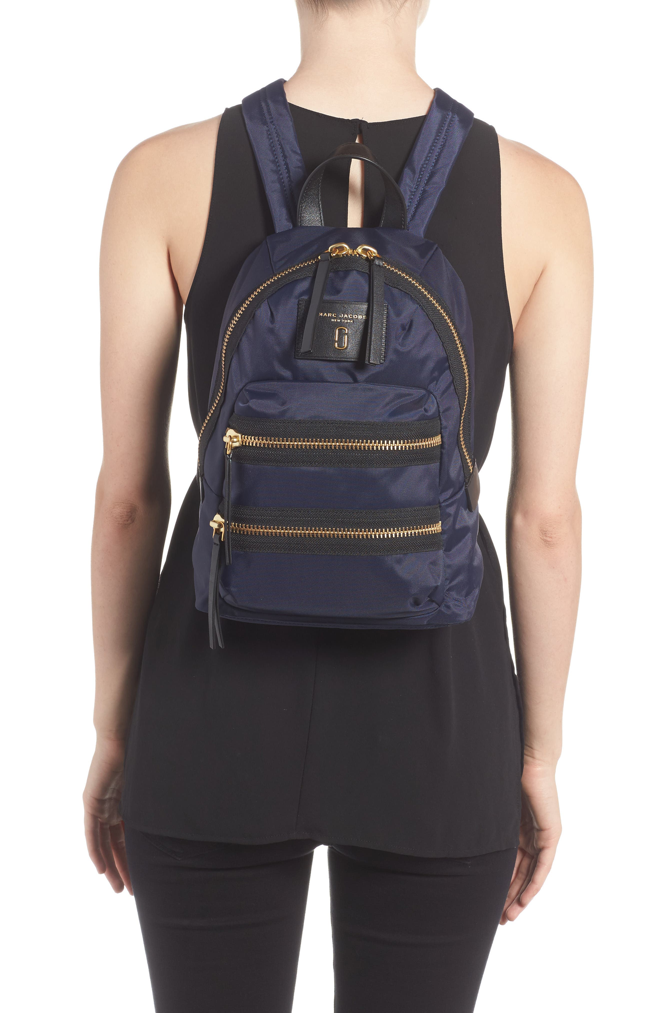 Alternate Image 2  - MARC JACOBS Mini Biker Nylon Backpack
