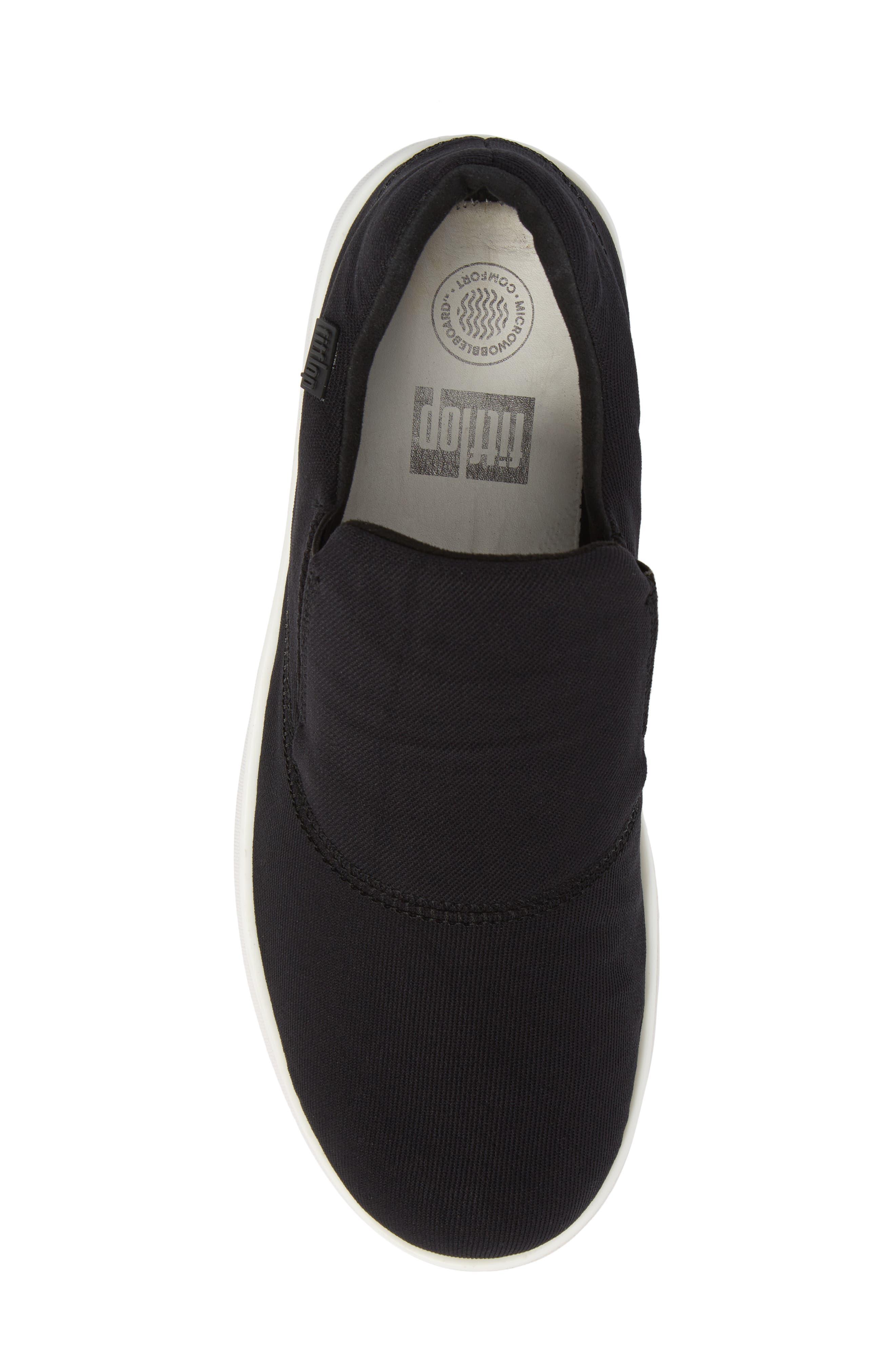 Alternate Image 5  - FitFlop Loaff Platform Slip-On Sneaker (Women)