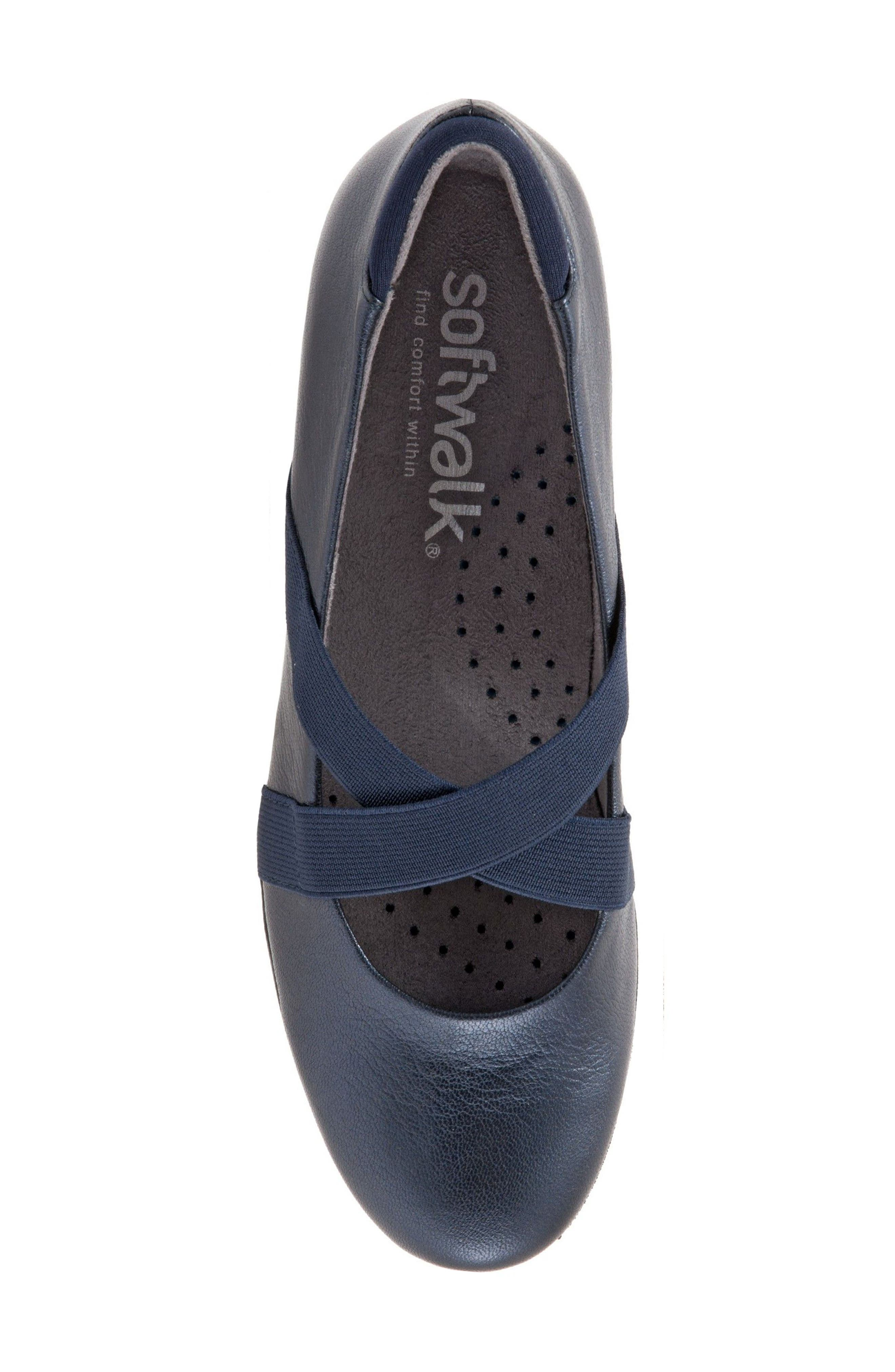 Alternate Image 5  - SoftWalk® Waverly Mary Jane Wedge (Women)