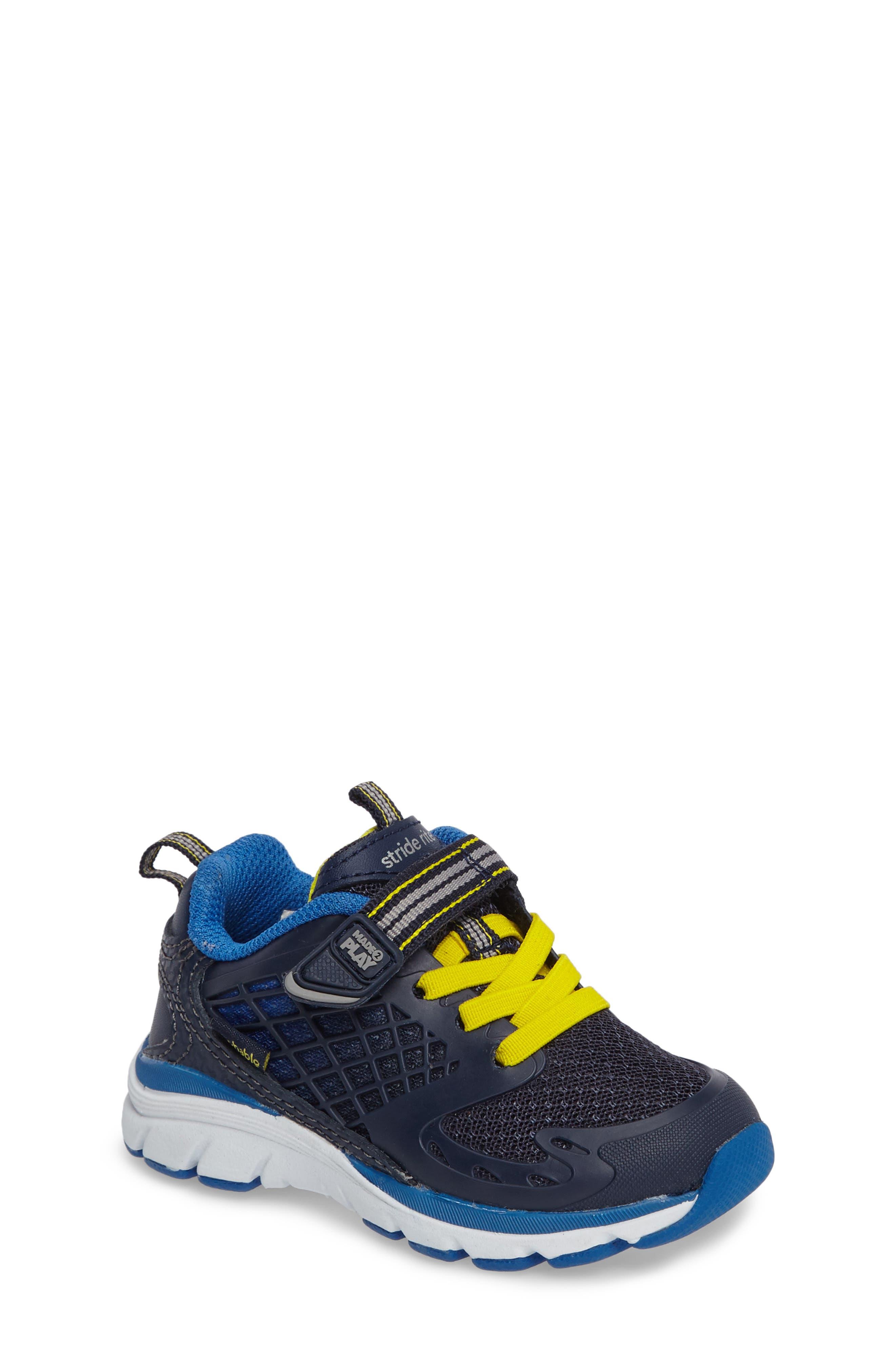 Made 2 Play Breccen Sneaker,                             Main thumbnail 1, color,                             Navy