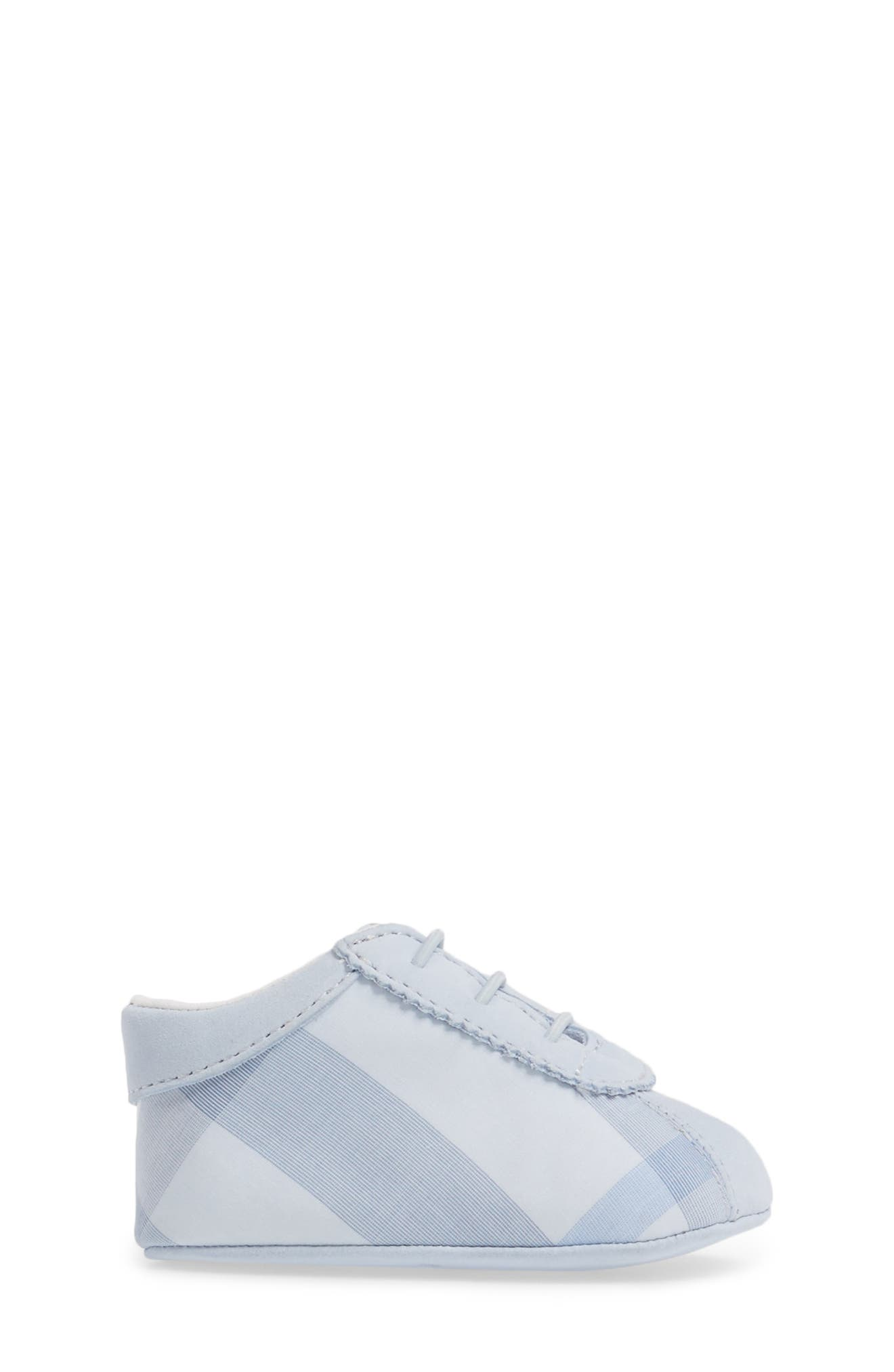 'Bosco' Crib Shoe,                             Alternate thumbnail 3, color,                             Ice Blue