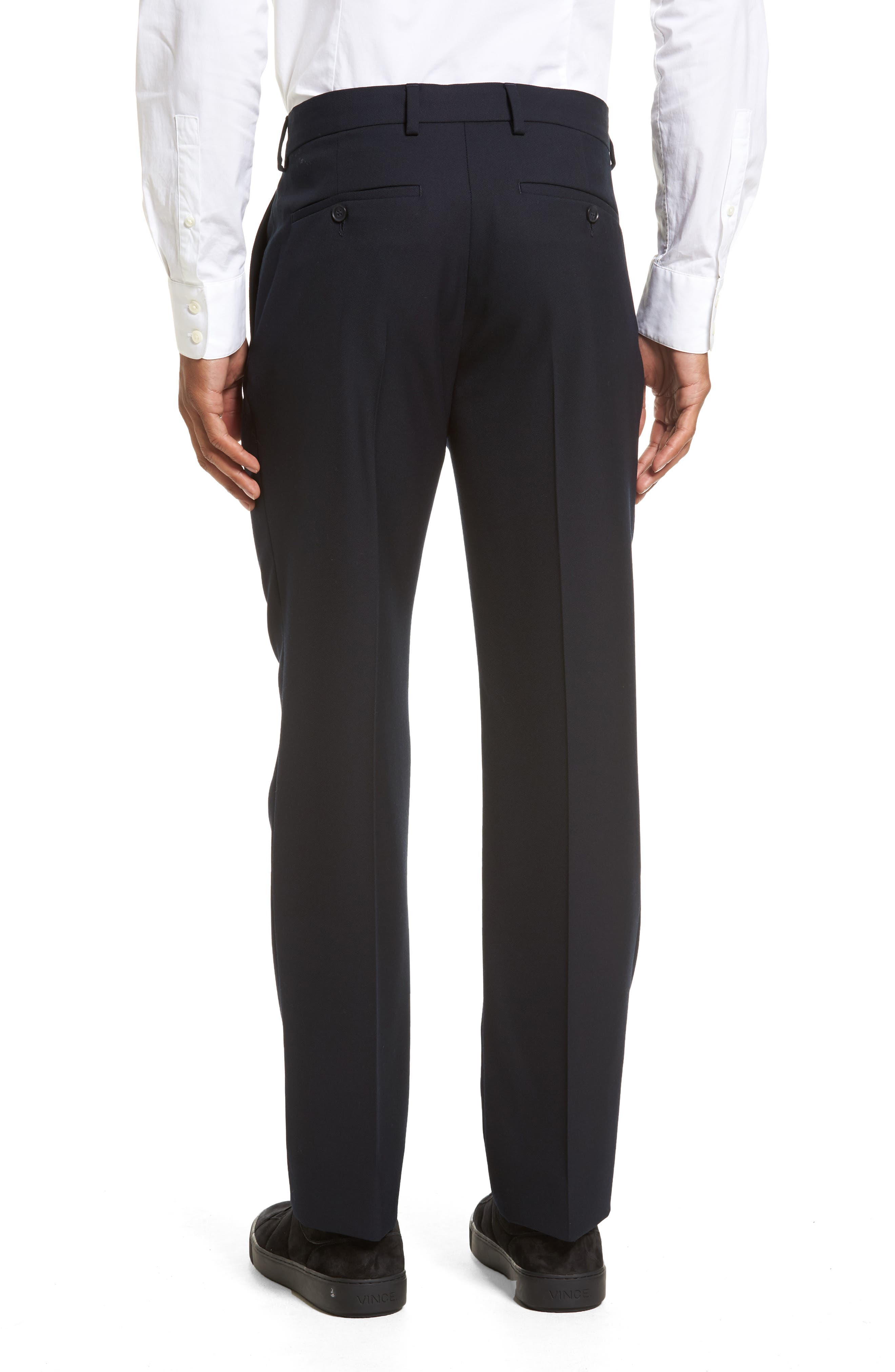 Alternate Image 2  - Vince Regular Fit Wool Trousers