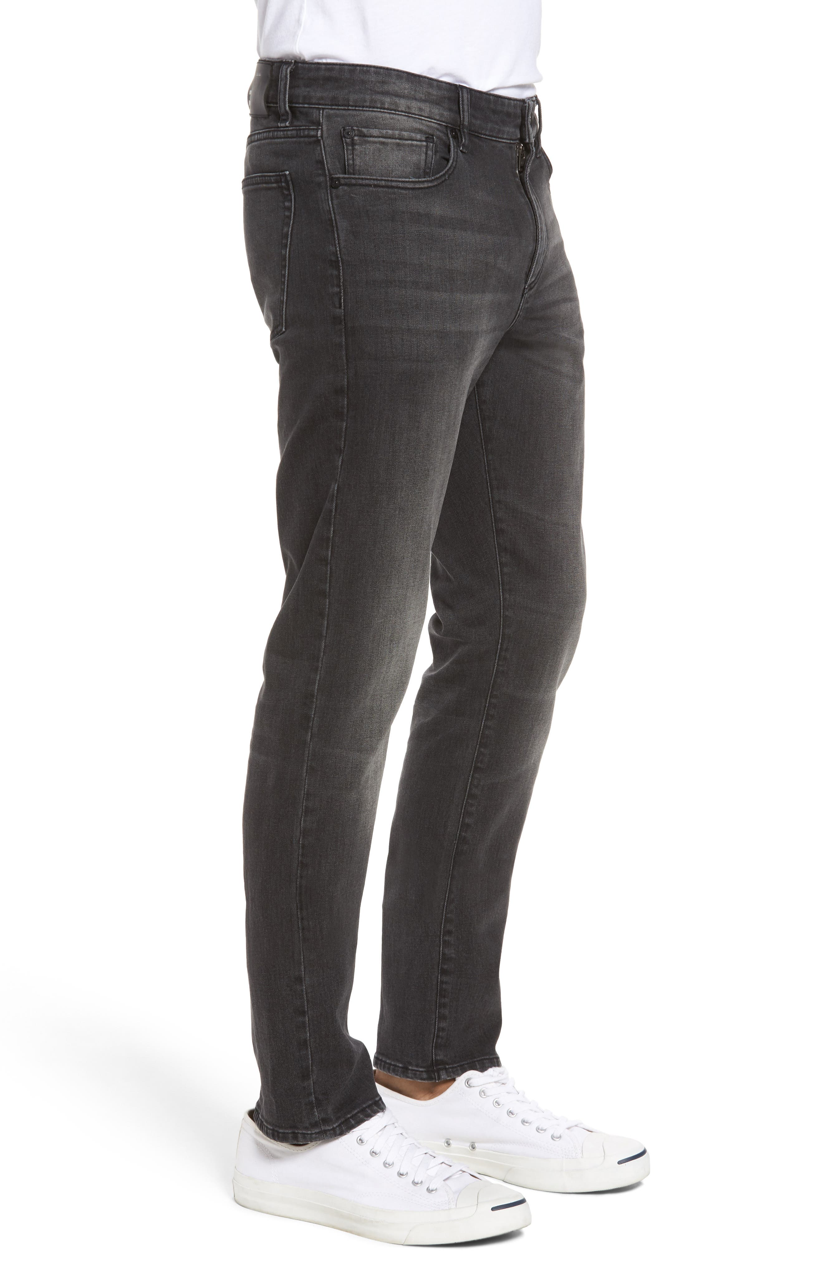 Russell Slim Straight Fit Jeans,                             Alternate thumbnail 3, color,                             Hound