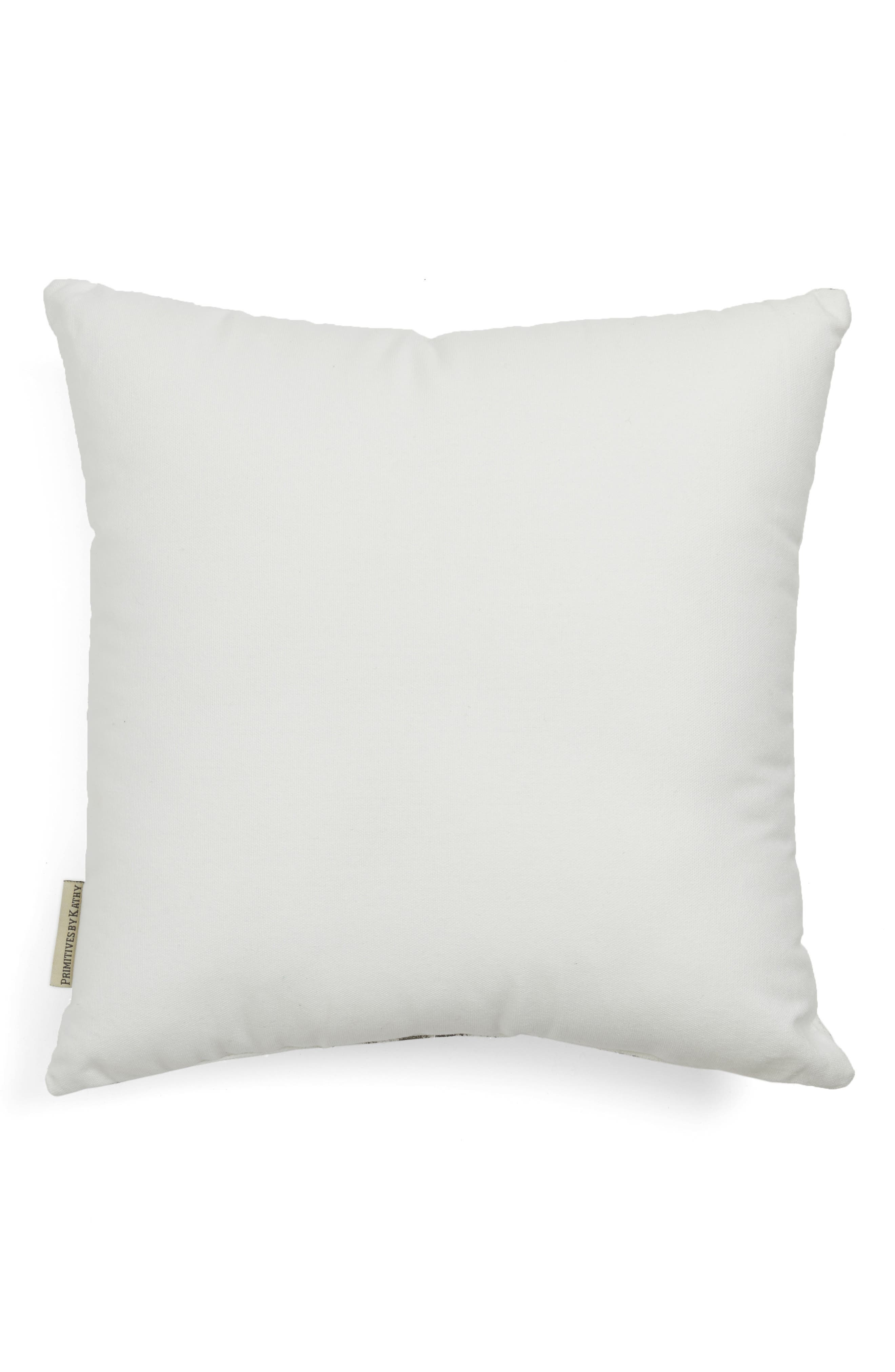 Merry Christmas Accent Pillow,                             Alternate thumbnail 2, color,                             Grey