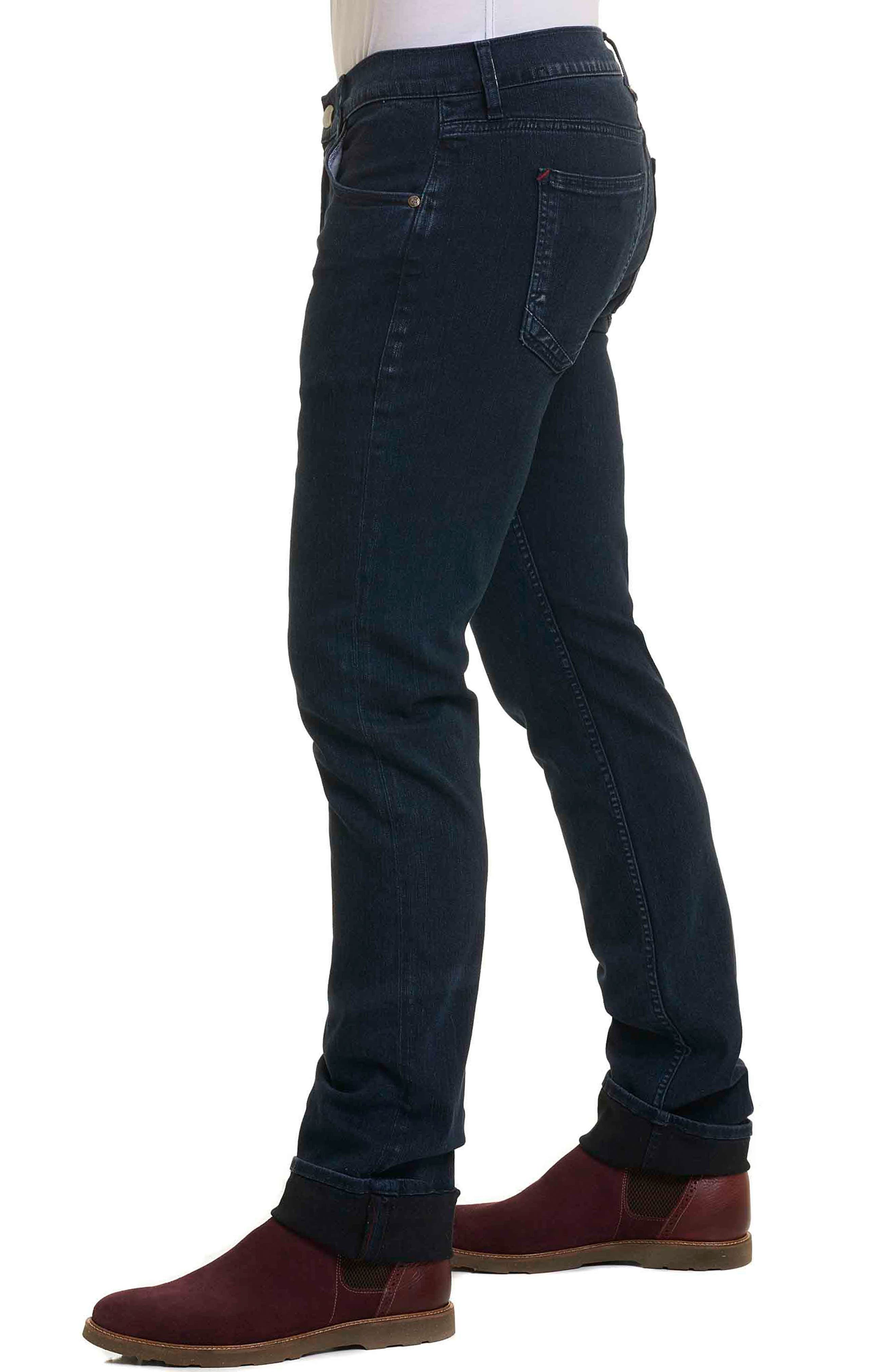 Adapt Classic Fit Jeans,                             Alternate thumbnail 3, color,                             Indigo