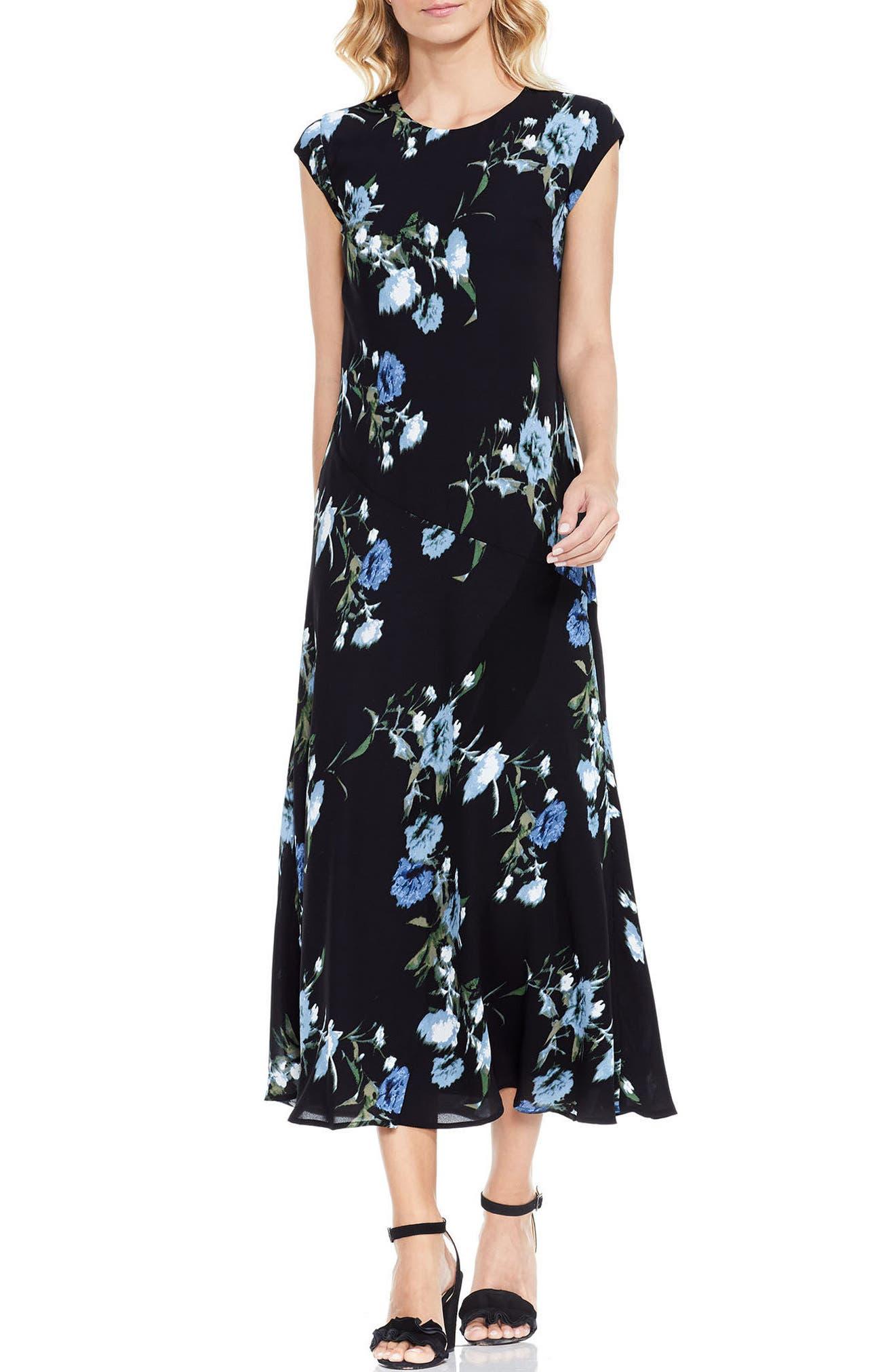 VINCE CAMUTO Windswept Bouquet Dress