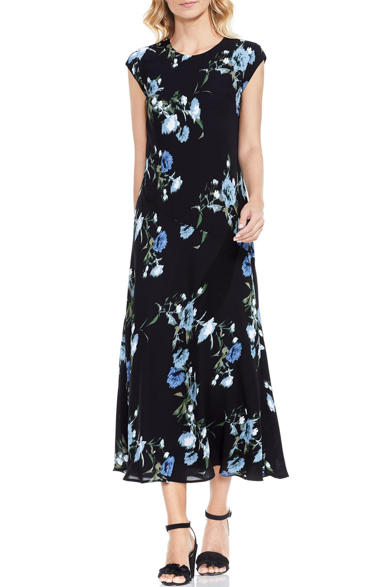 Alternate Image 1 Selected - Vince Camuto Windswept Bouquet Dress