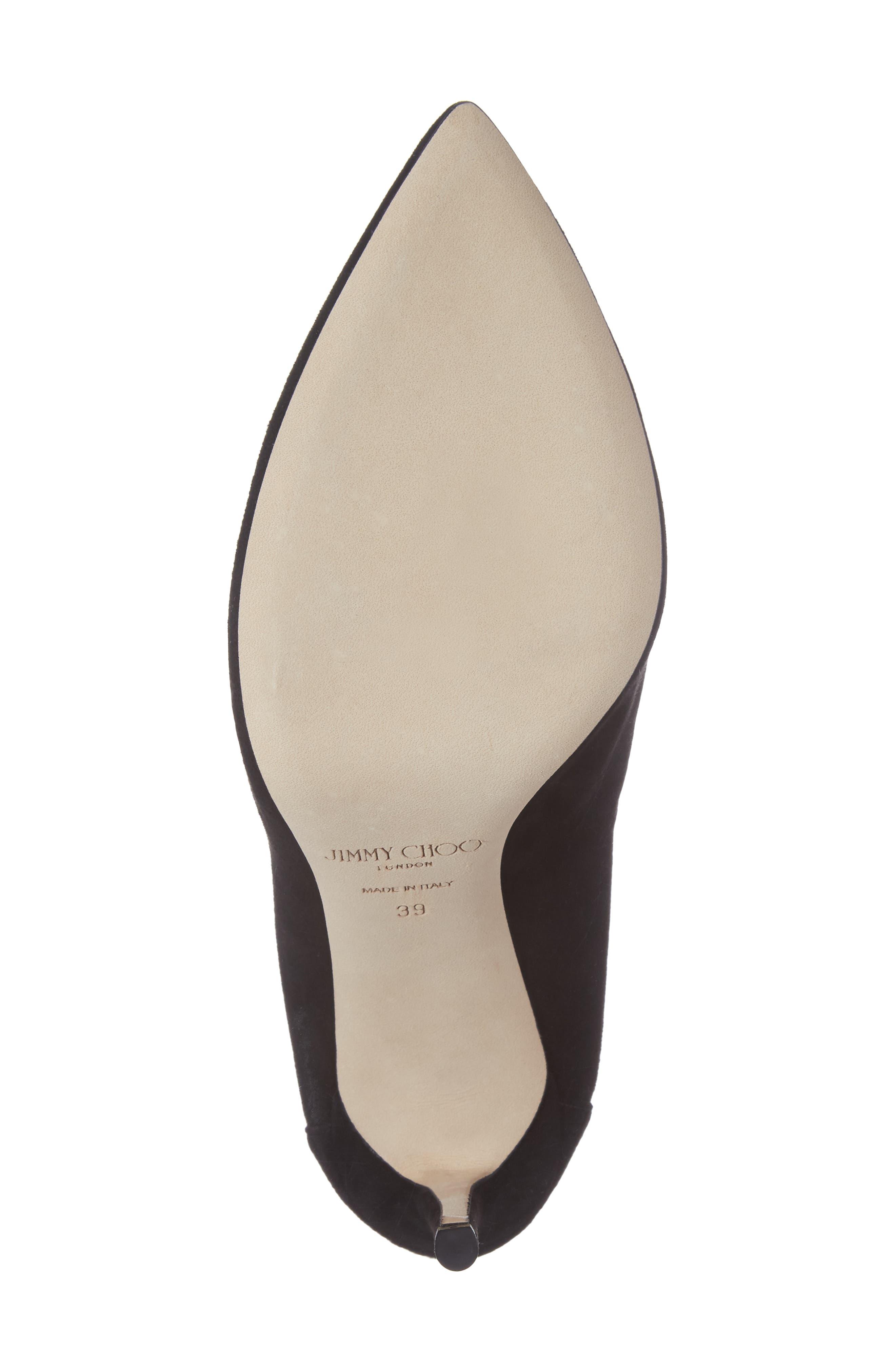 Alternate Image 6  - Jimmy Choo Lux Embellished Ankle Strap Bootie (Women)