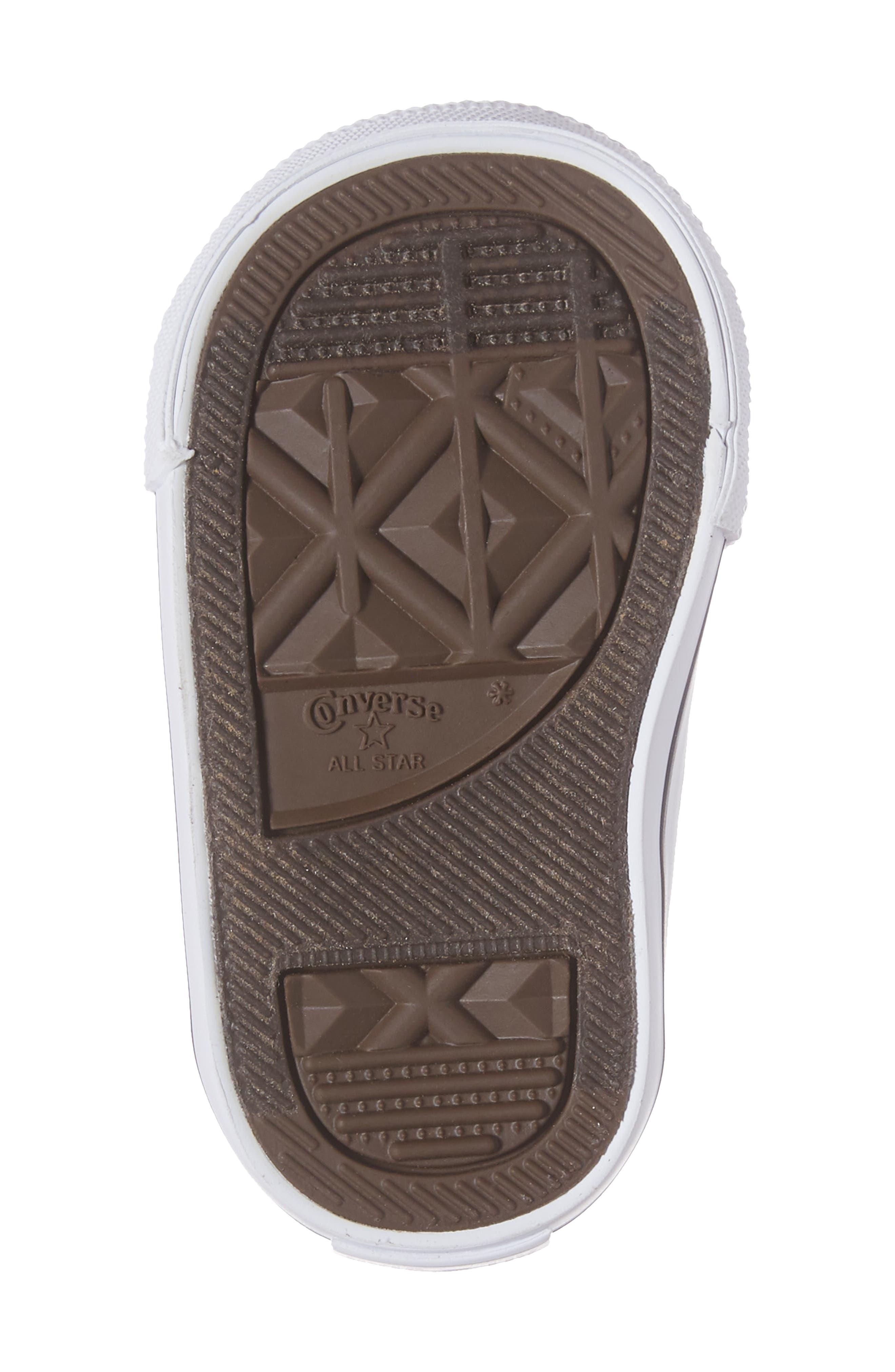 Alternate Image 6  - Converse Chuck Taylor® All Star® Knit High Top Sneaker (Baby, Walker, Toddler & Little Kid)