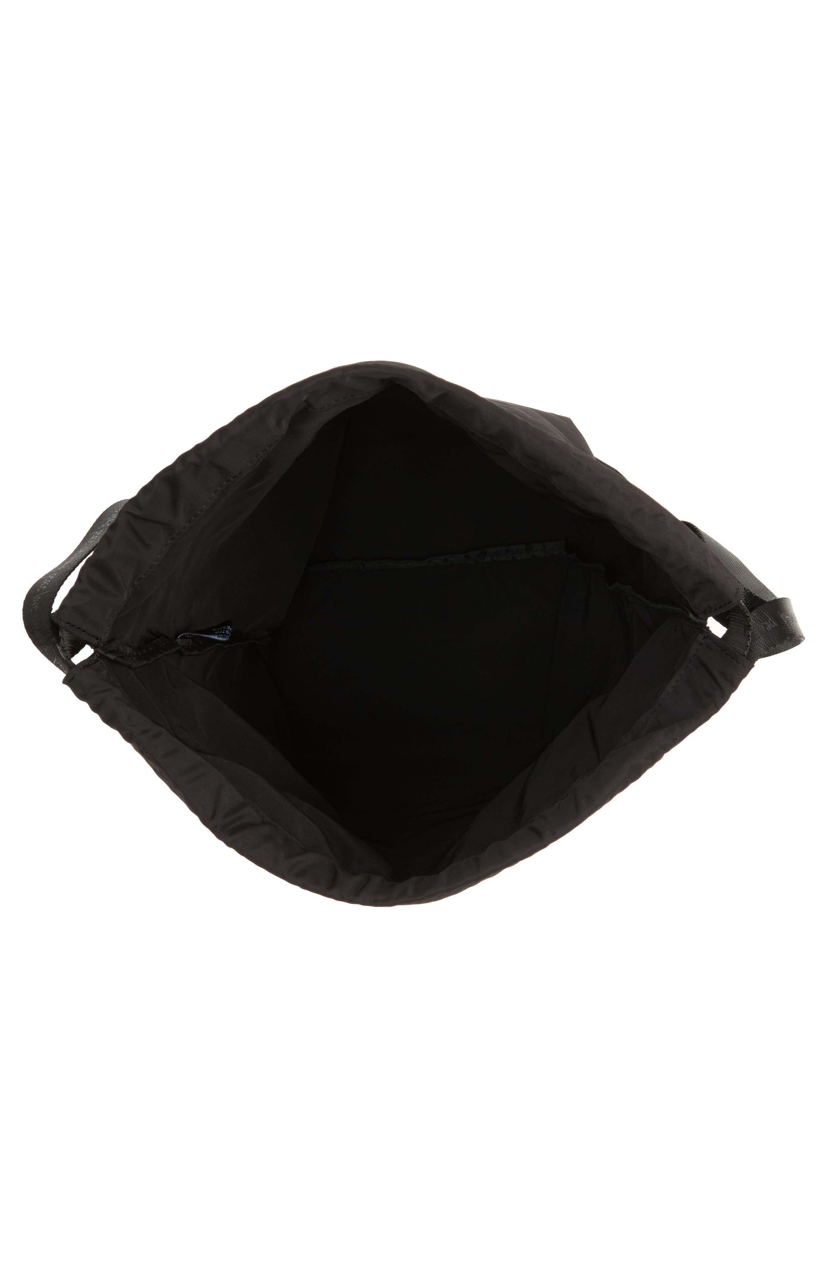 Alternate Image 3  - Peace Love World Drawstring Nylon Backpack