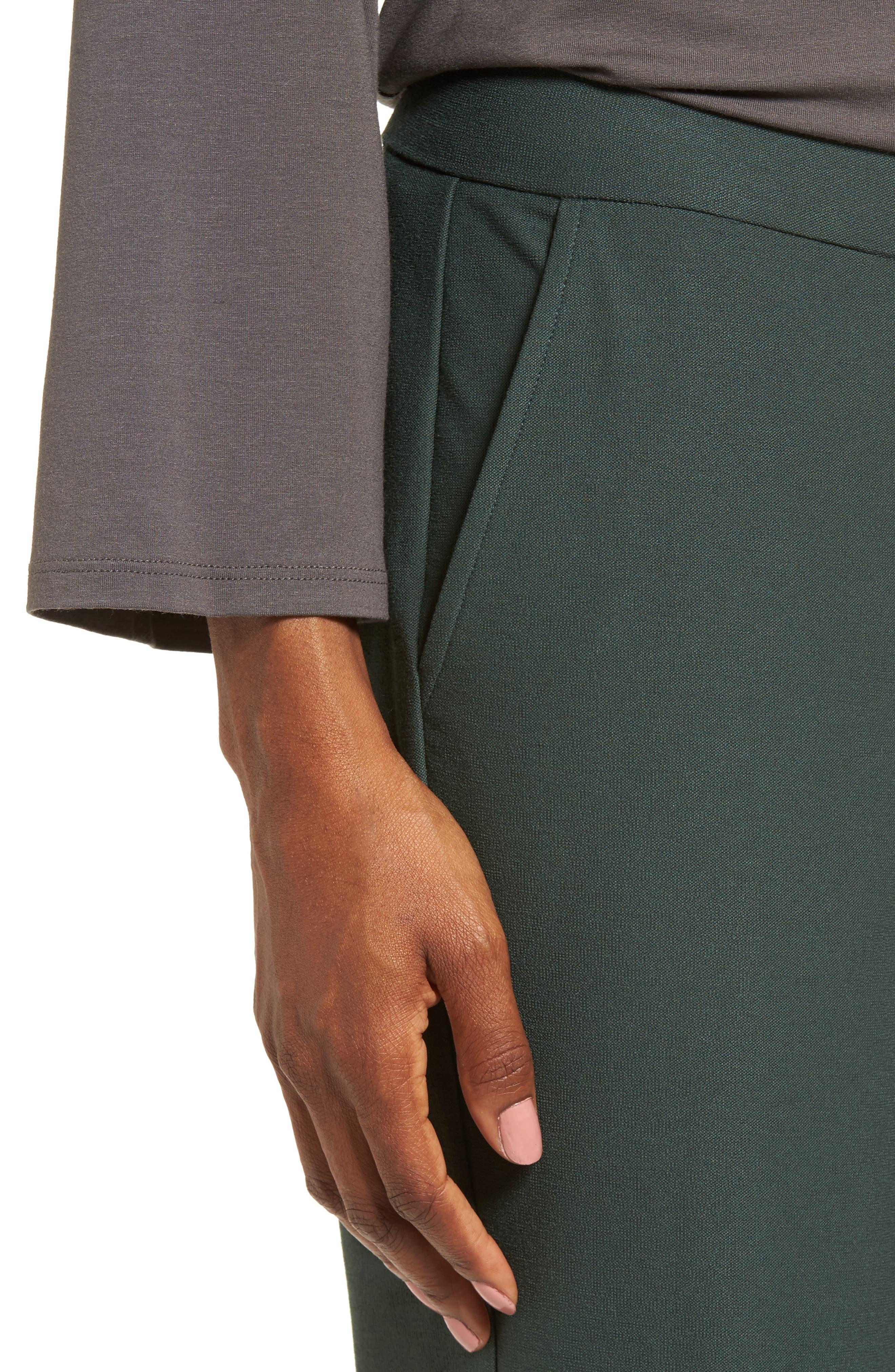 Alternate Image 4  - Eileen Fisher Straight Leg Pants