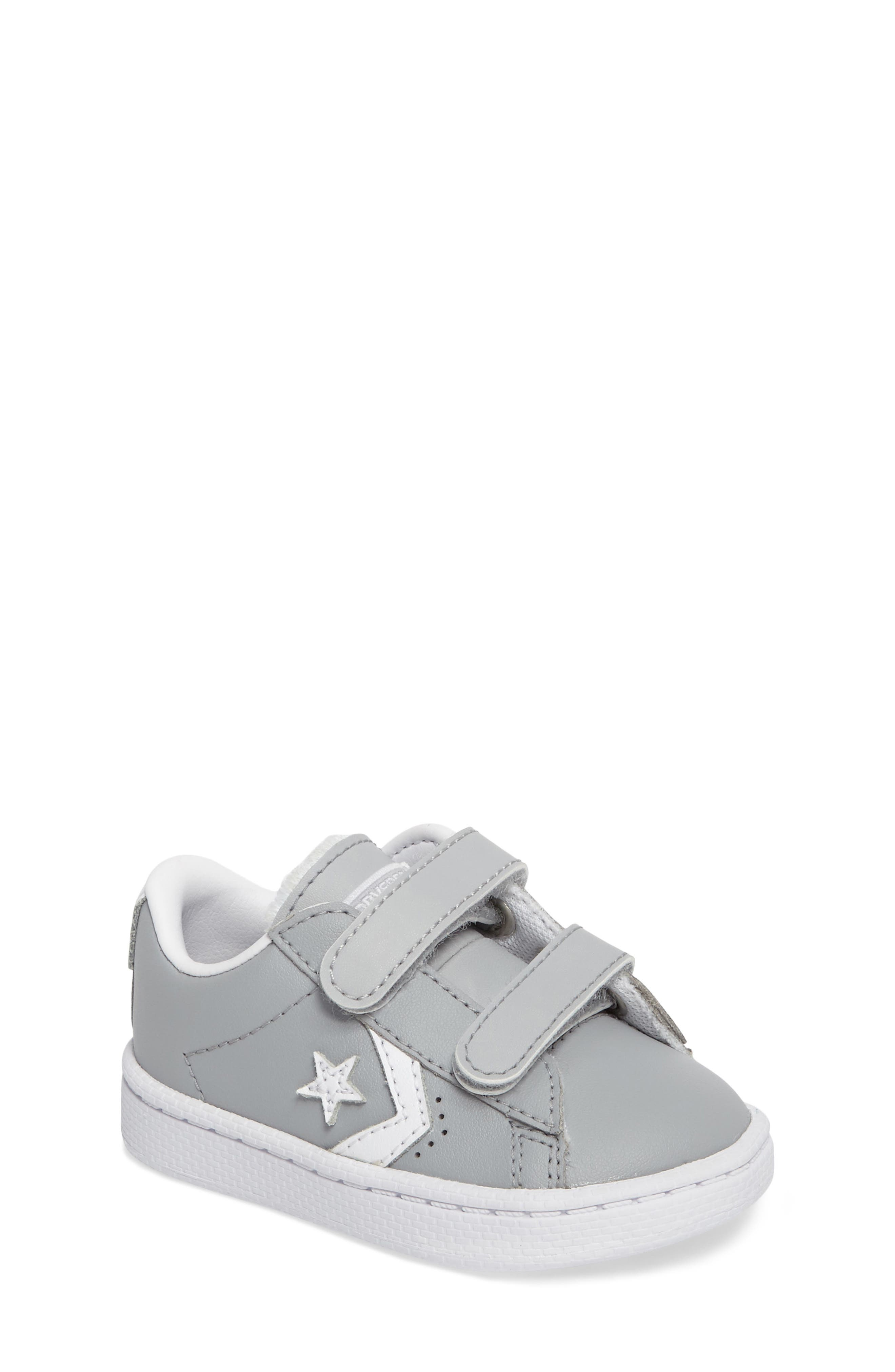 Alternate Image 1 Selected - Converse Pro Leather Low Top Sneaker (Baby, Walker, & Toddler)