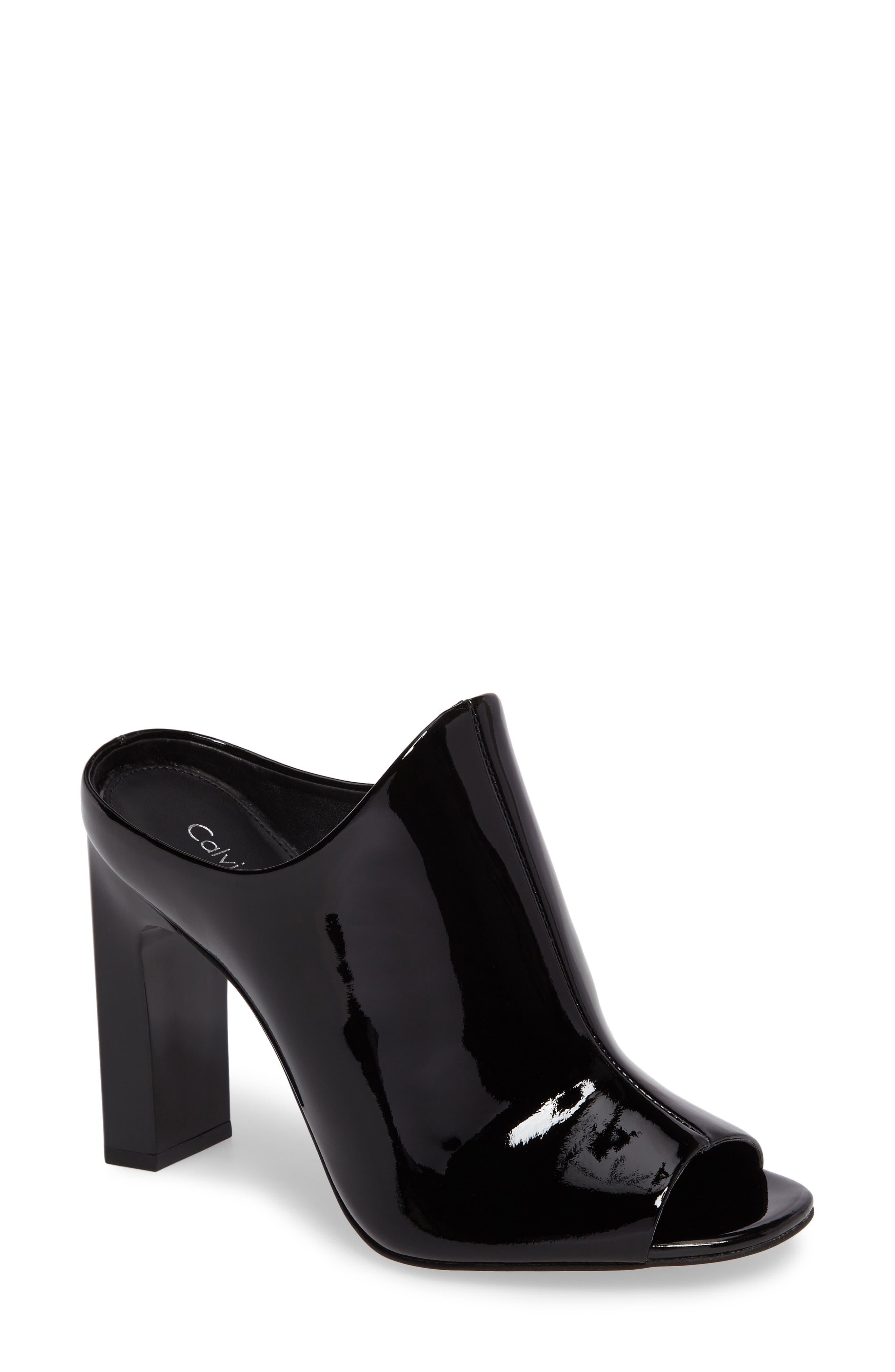 Alternate Image 1 Selected - Calvin Klein Maera Open Toe Mule (Women)
