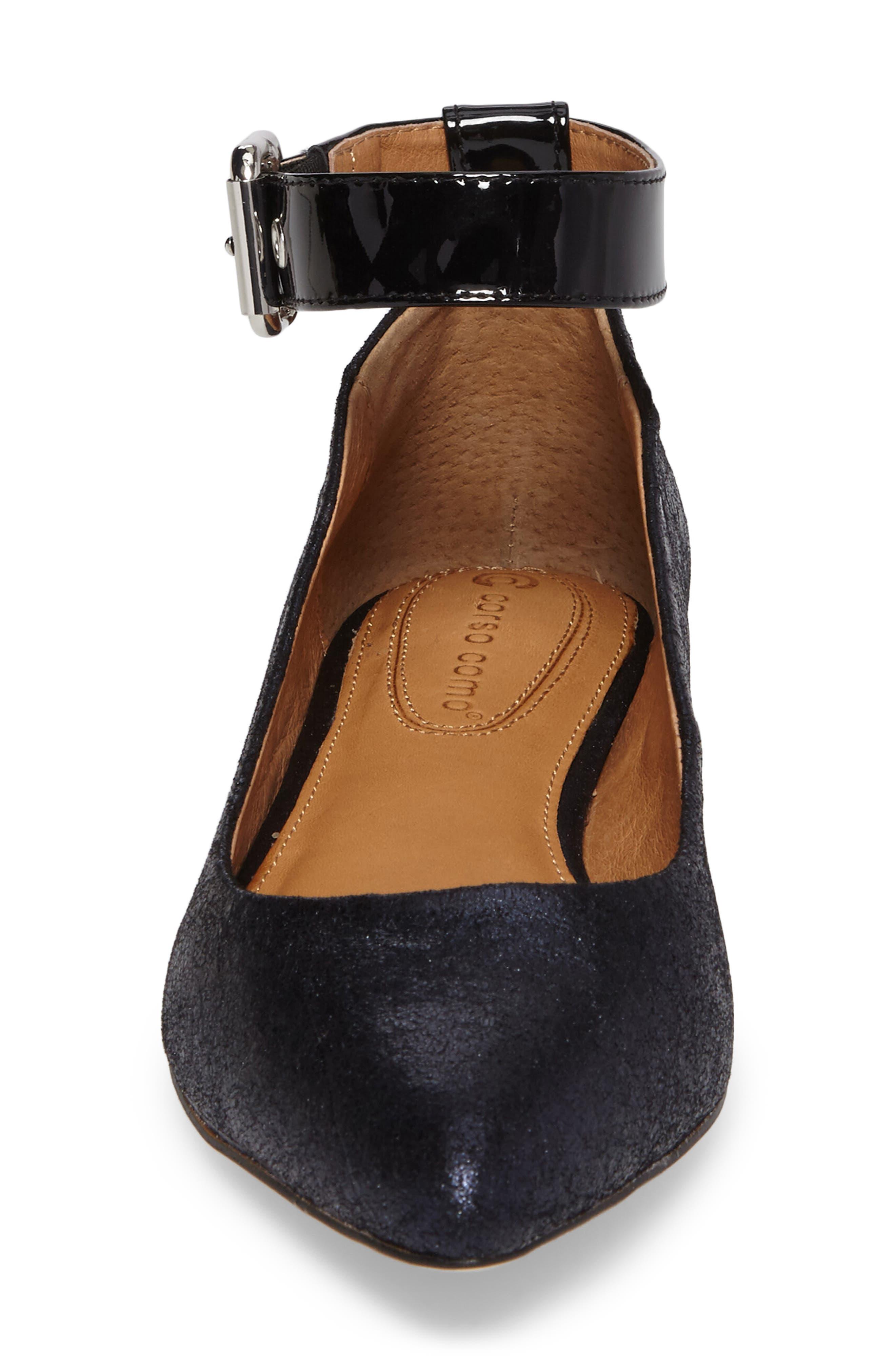 Alternate Image 4  - Corso Como Ramona Ankle Strap Flat (Women)