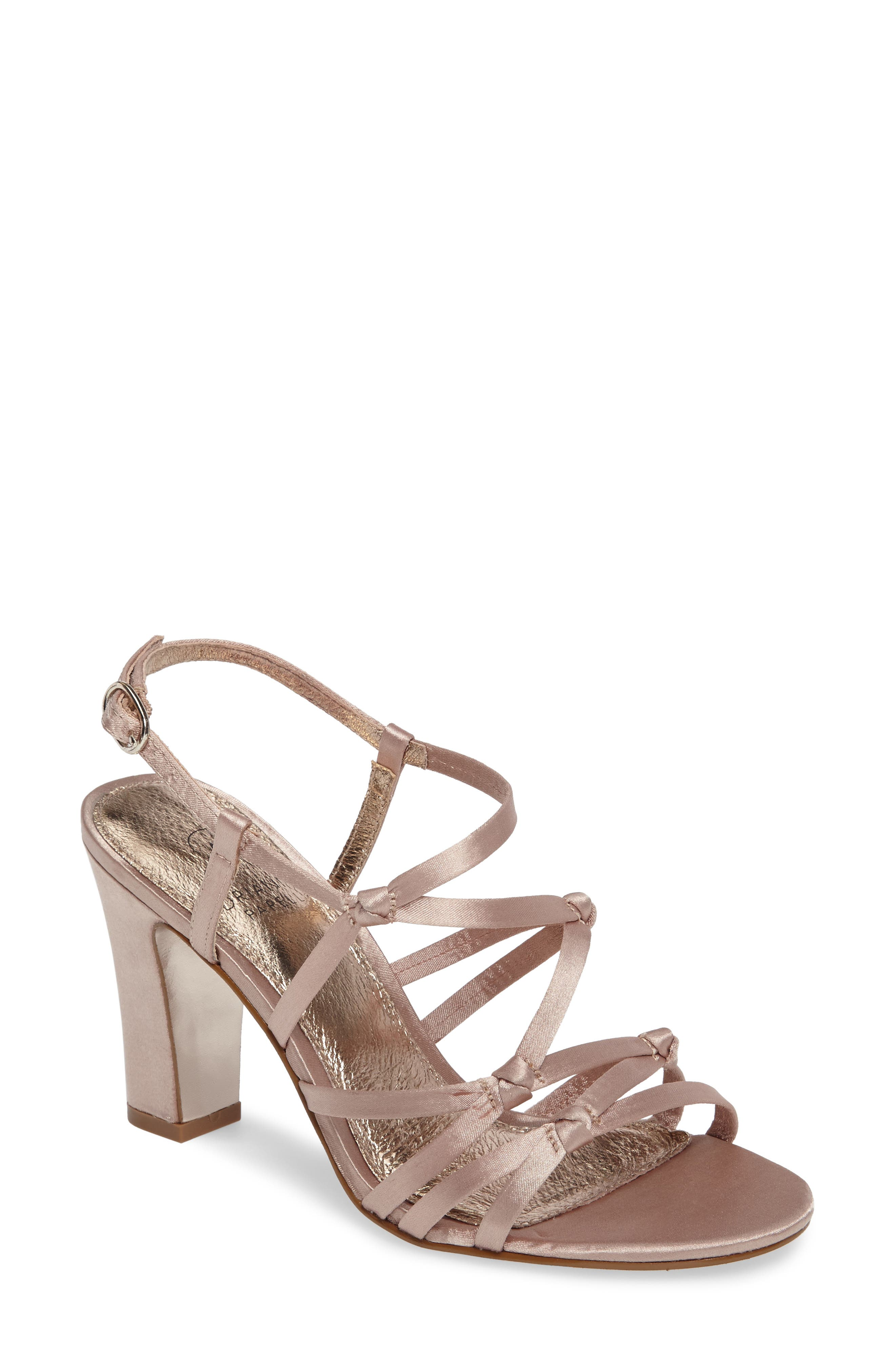 Alternate Image 1 Selected - Adrianna Papell Adelson Knotted Strappy Sandal (Women)
