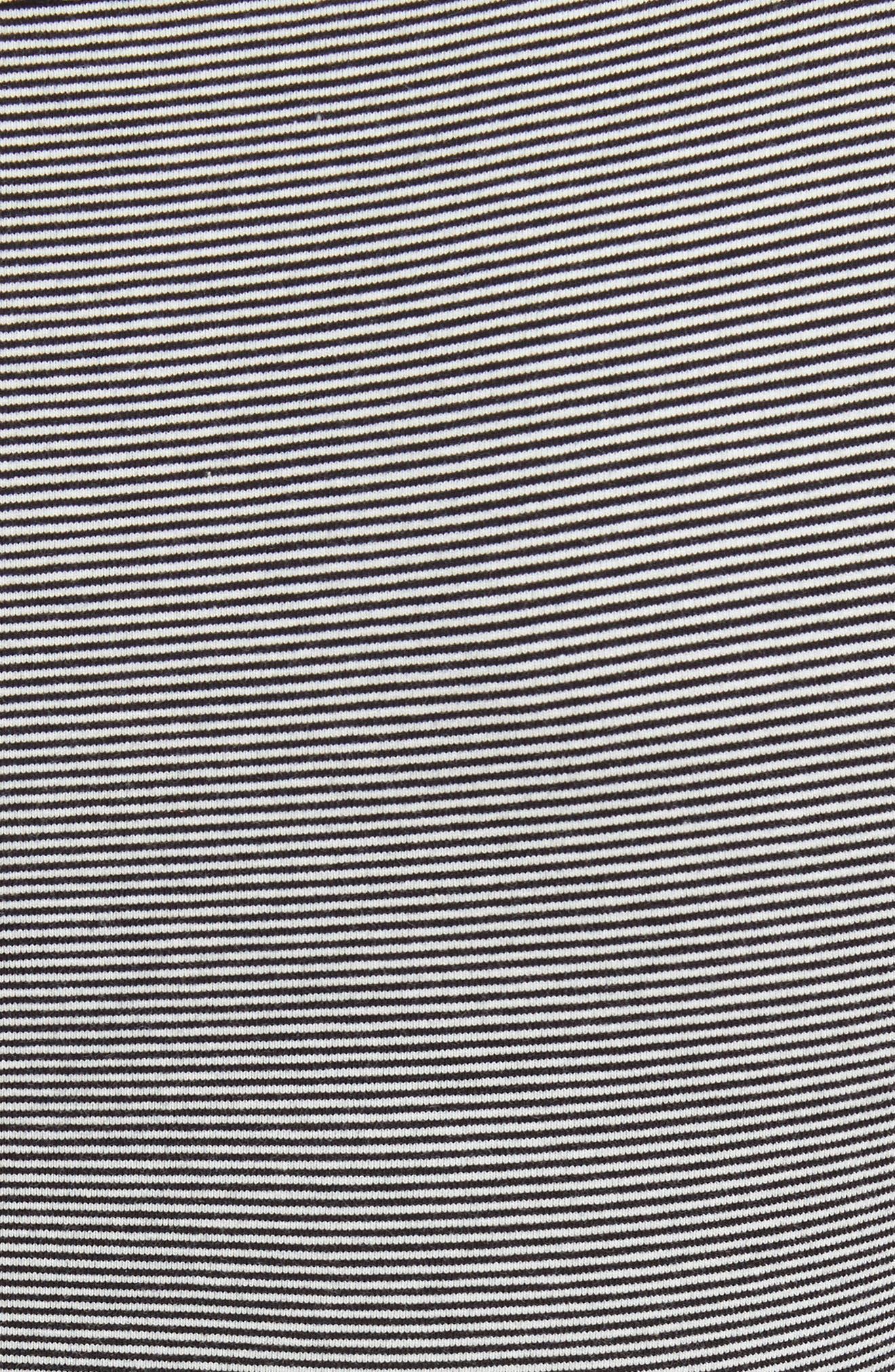 Penelope Ruffle Tee,                             Alternate thumbnail 5, color,                             Black