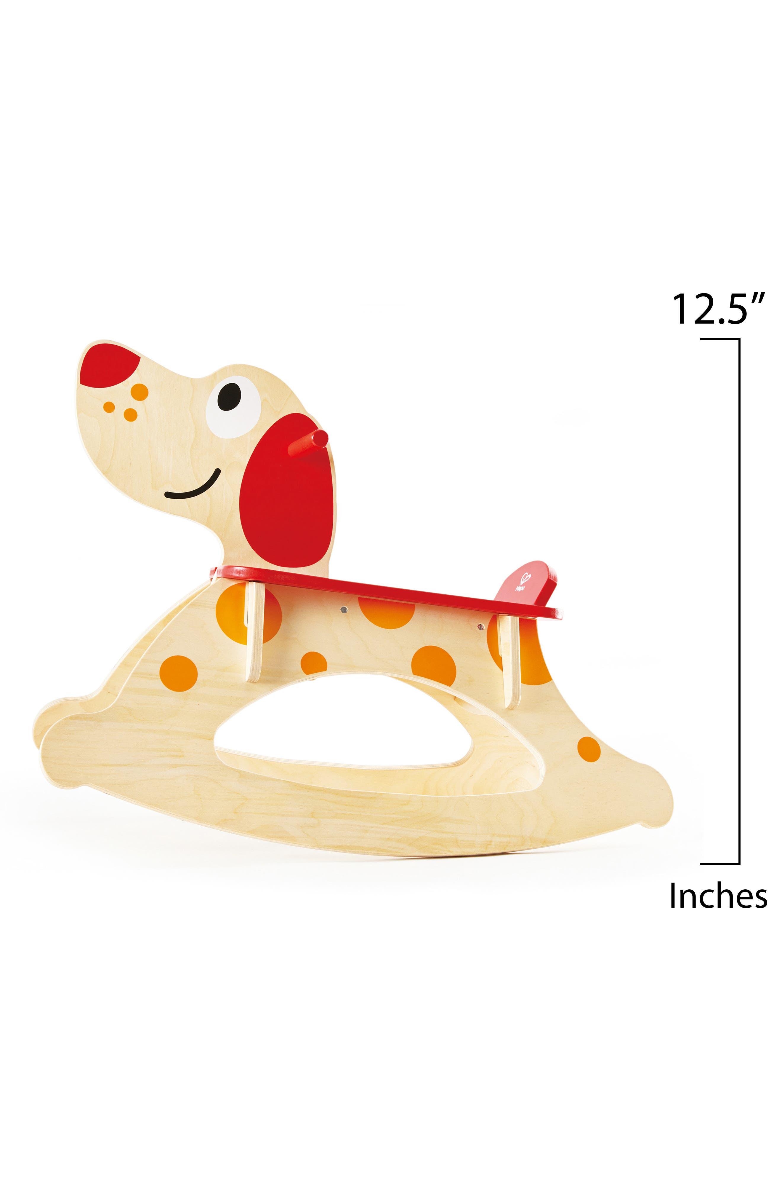Rock-A-Long Puppy Ride-On,                             Alternate thumbnail 3, color,                             Tan