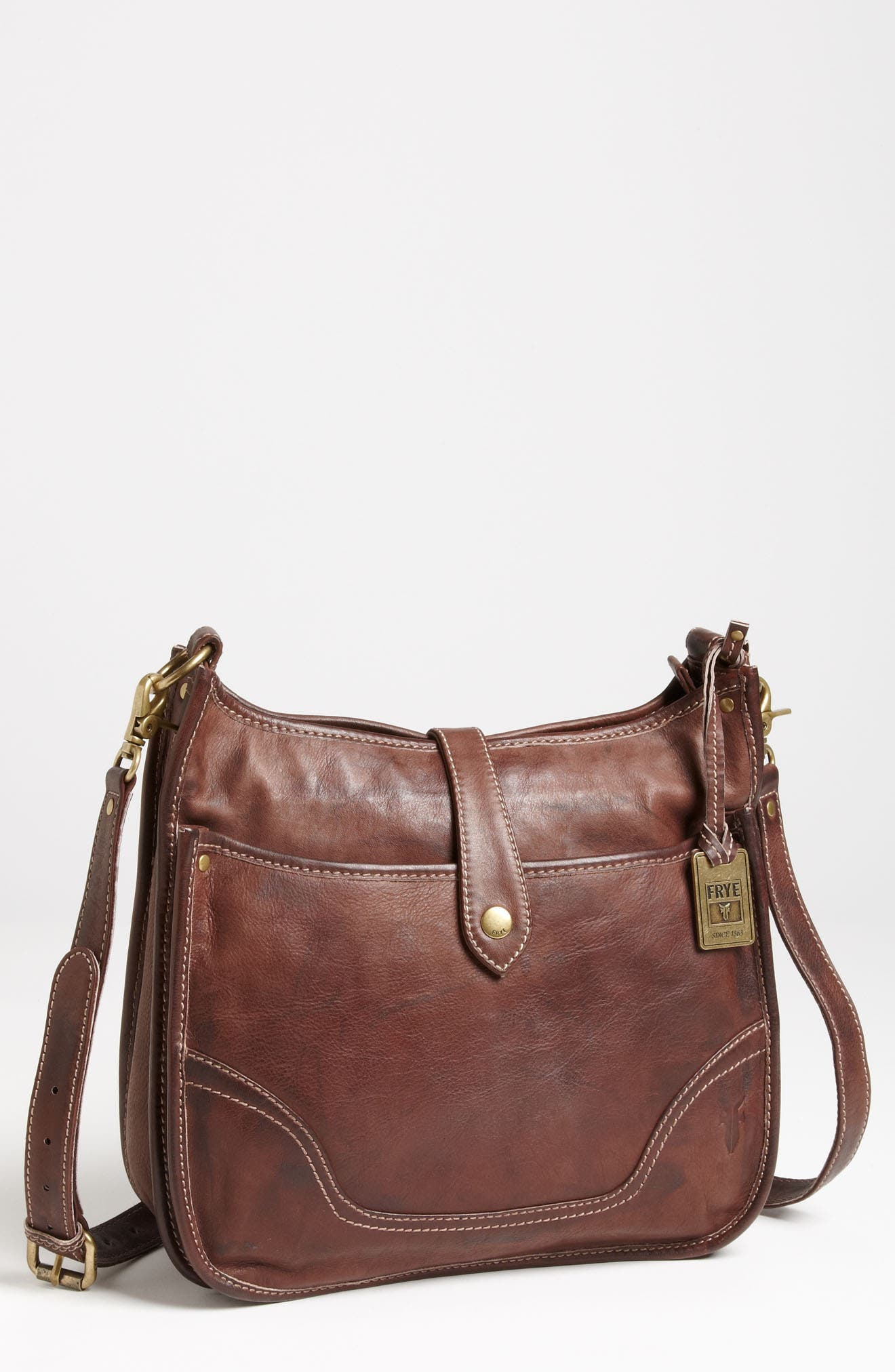 Main Image - Frye 'Campus' Leather Crossbody Bag