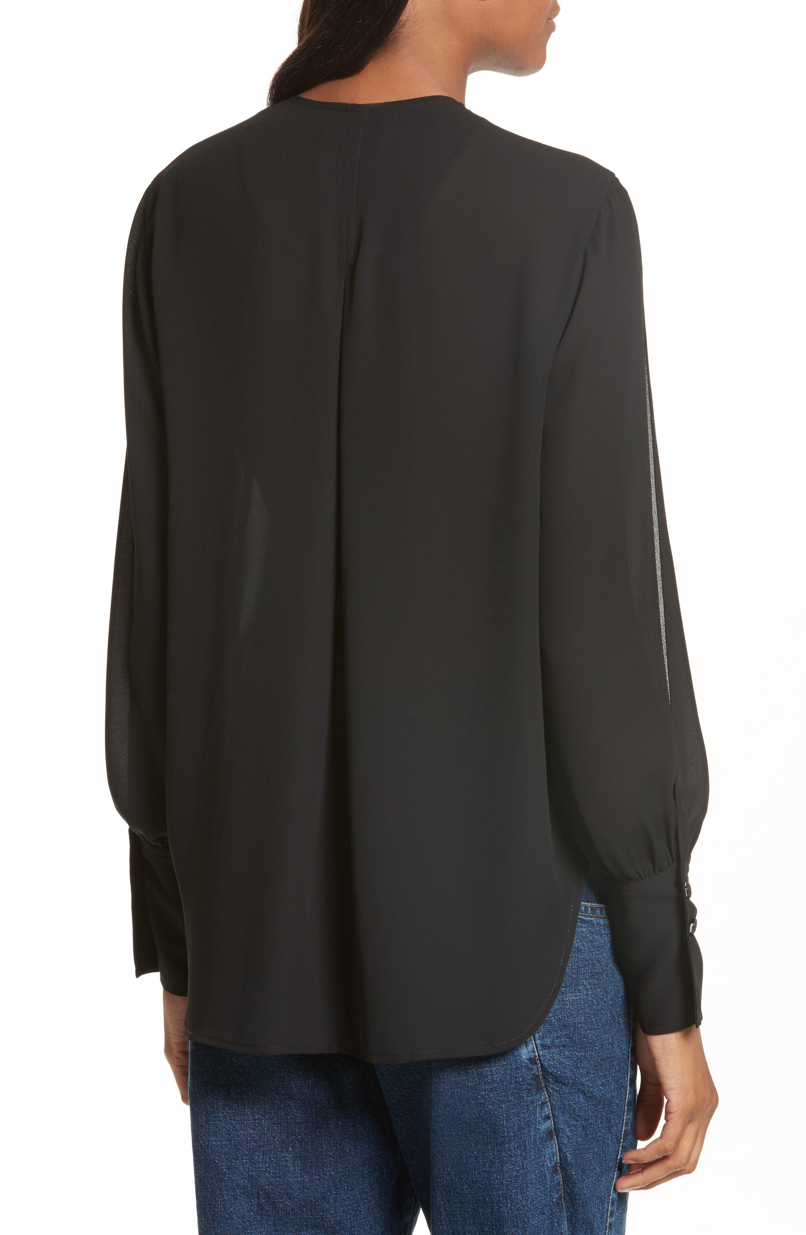 Alternate Image 2  - Rachel Comey Meryl Tie Front Blouse
