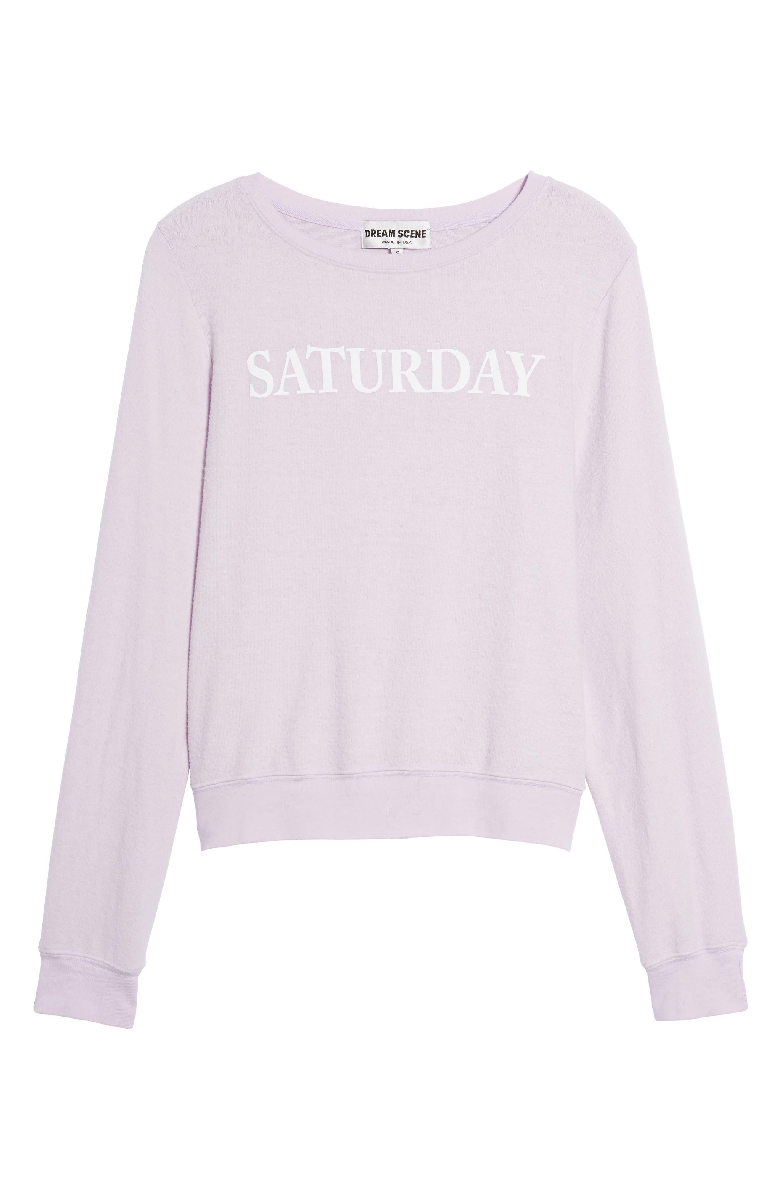 Alternate Image 6  - Dream Scene Saturday Sweatshirt
