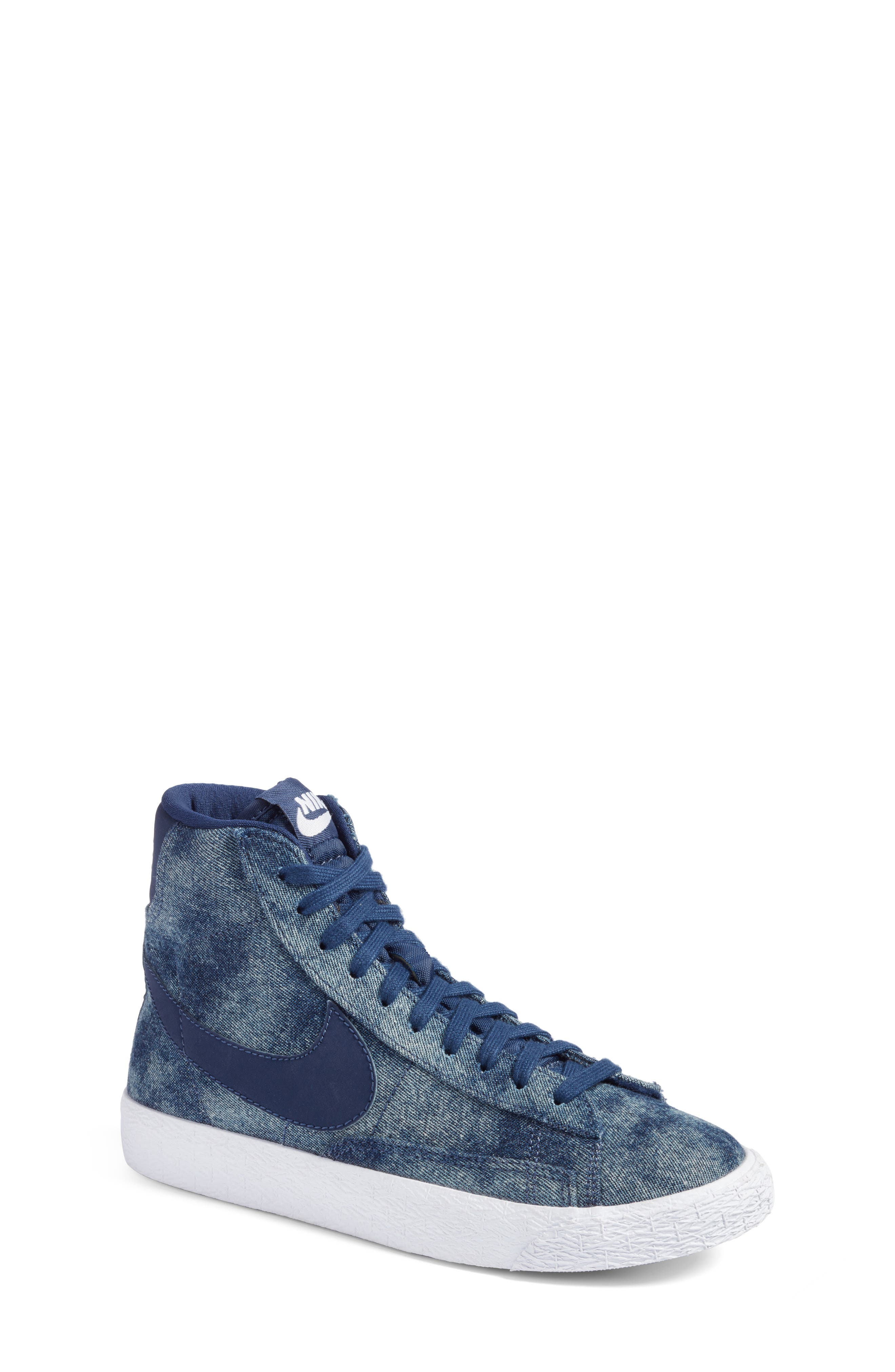 Nike Blazer Mid SE High Top Sneaker (Big Kid)
