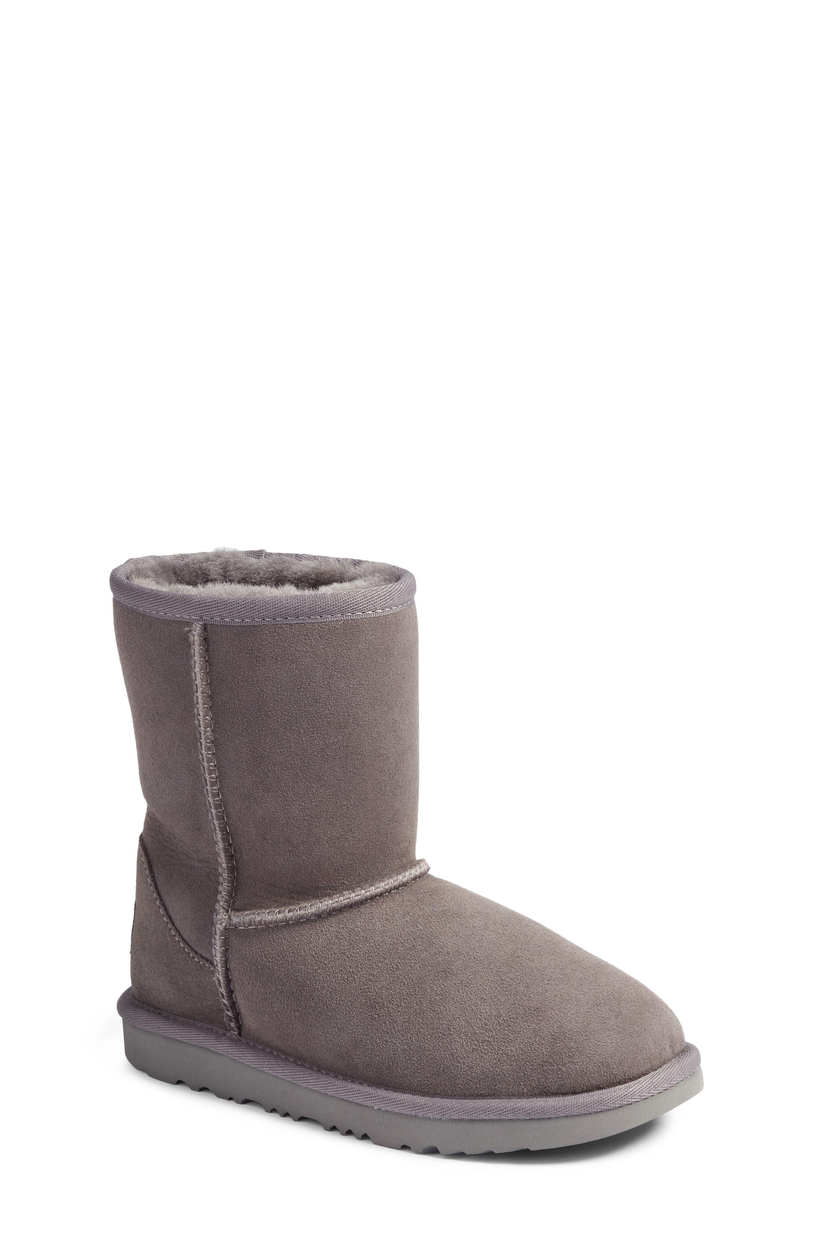UGG® Classic II Water Resistant Genuine Shearling Boot (Walker, Toddler, Little Kid & Big Kid)