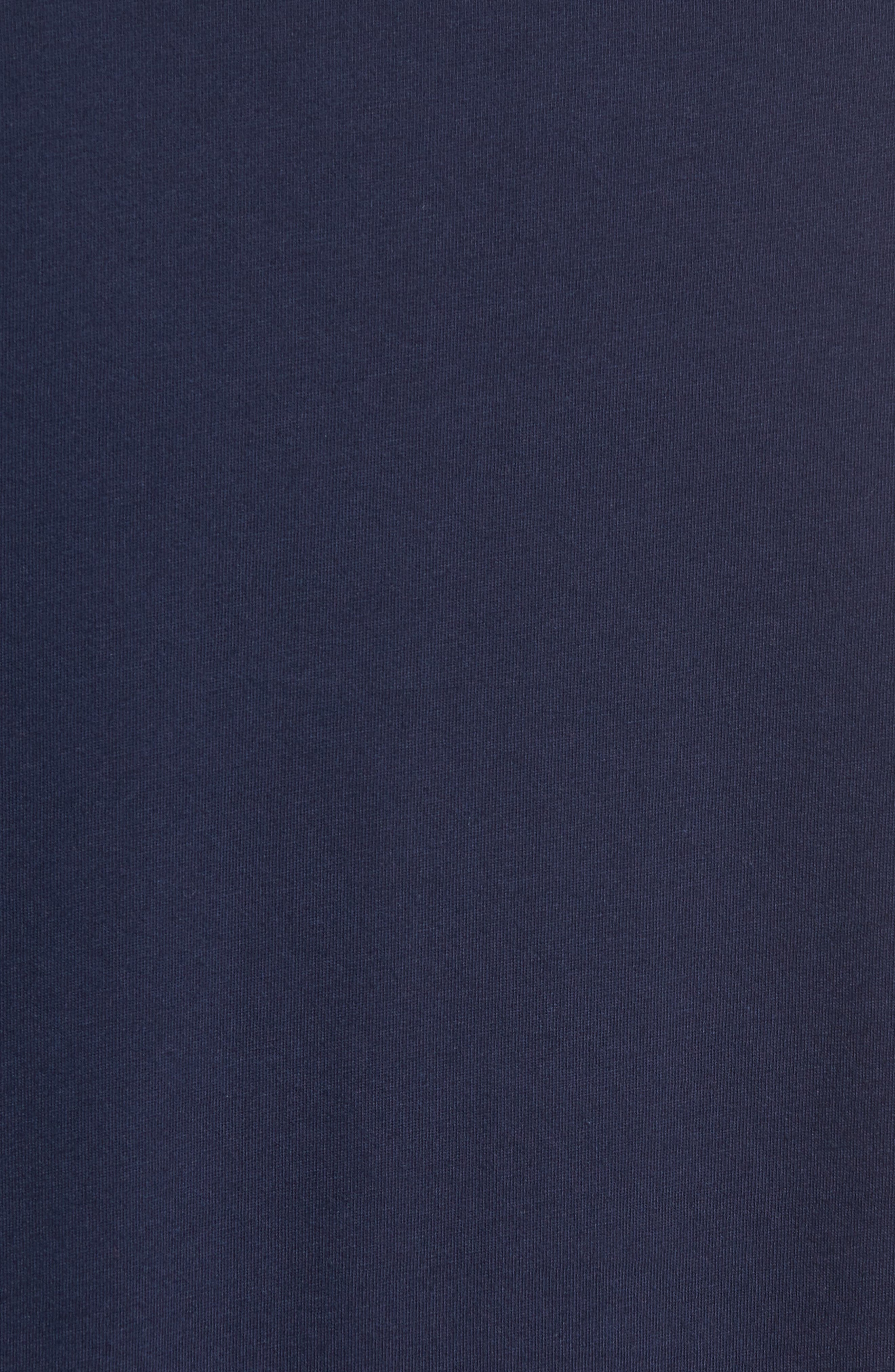 Crewneck T-Shirt,                             Alternate thumbnail 5, color,                             Cruise Navy