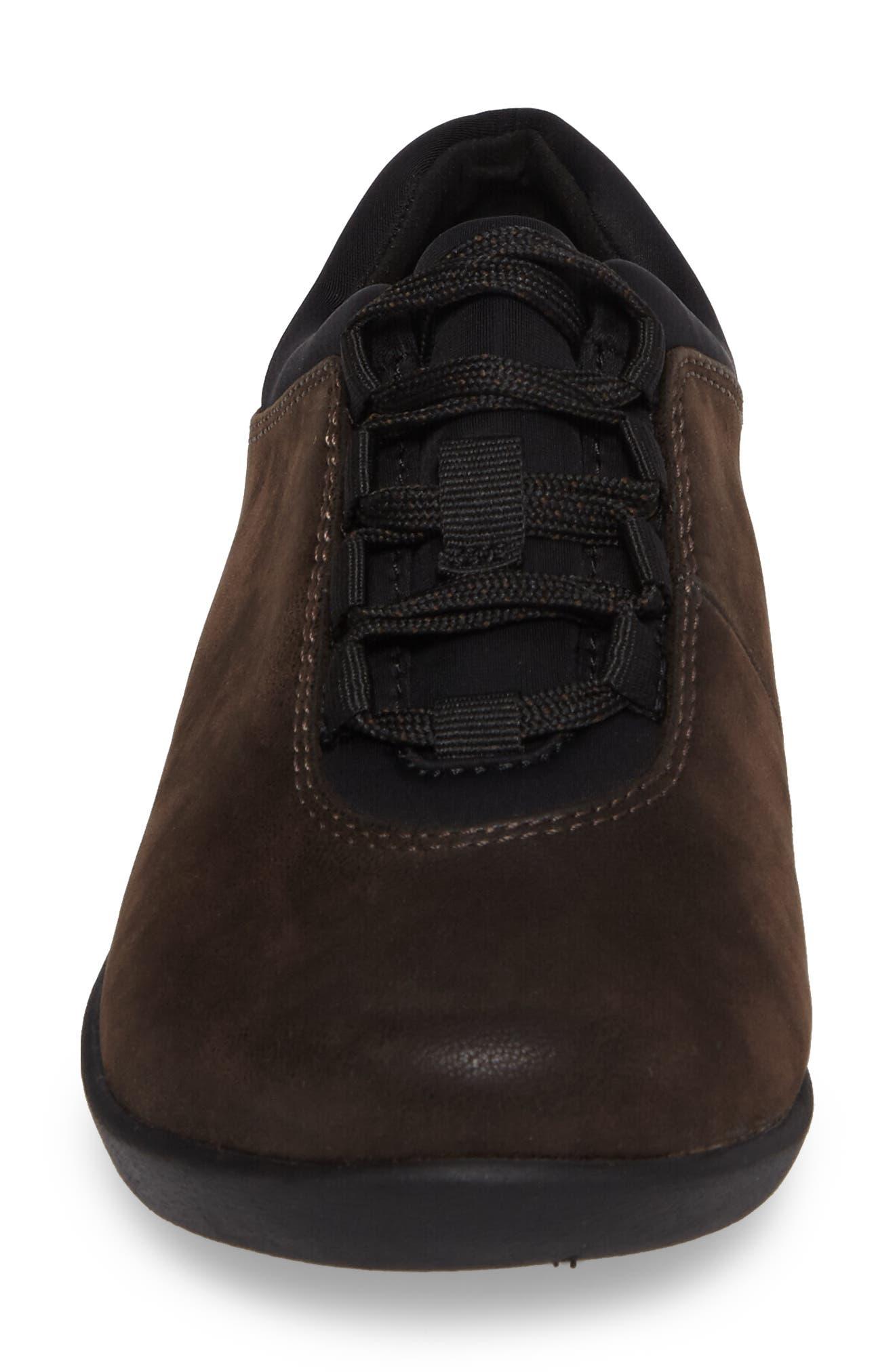 Sillian Pine Sneaker,                             Alternate thumbnail 4, color,                             Brown Canvas