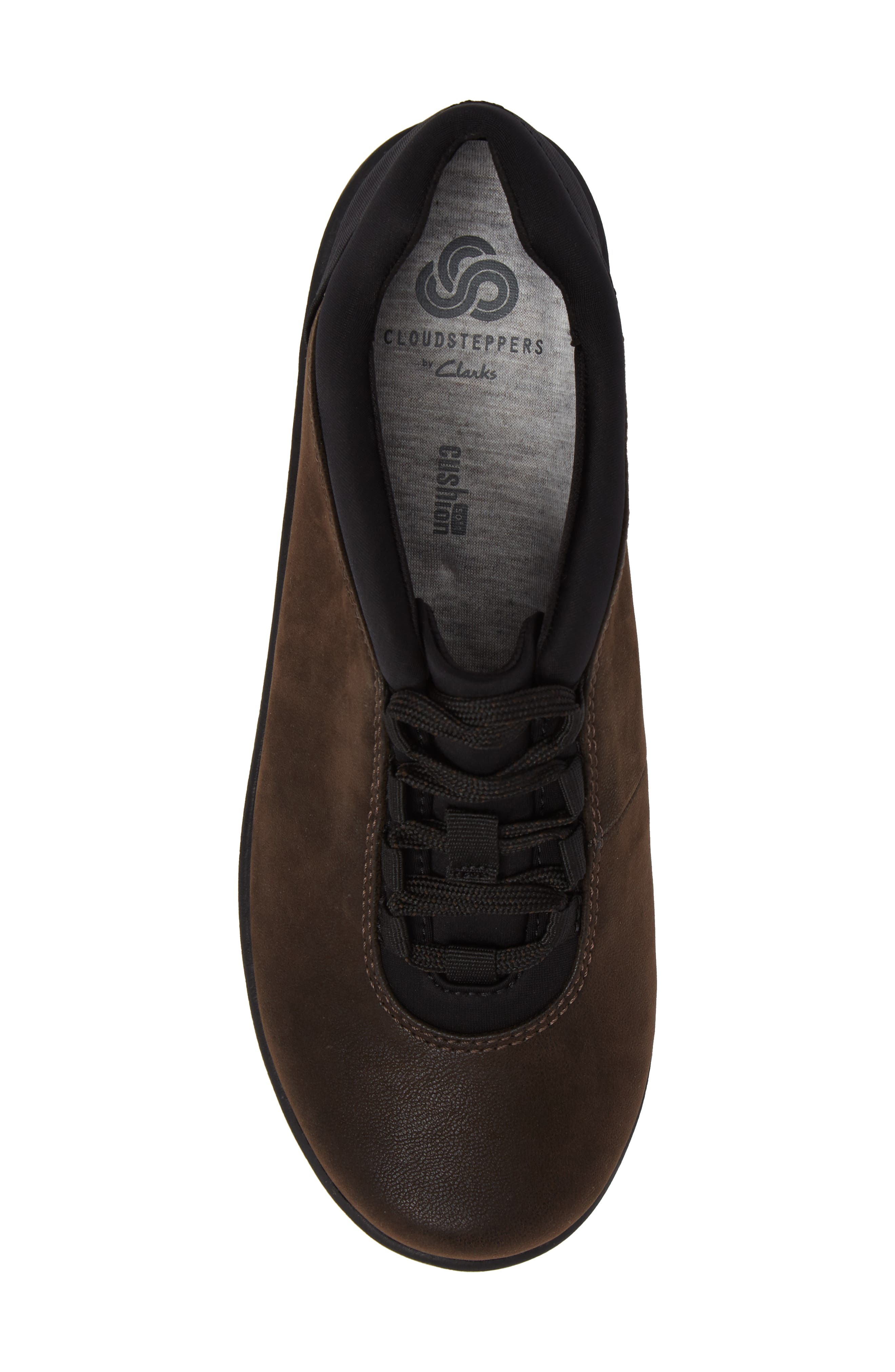 Sillian Pine Sneaker,                             Alternate thumbnail 5, color,                             Brown Canvas