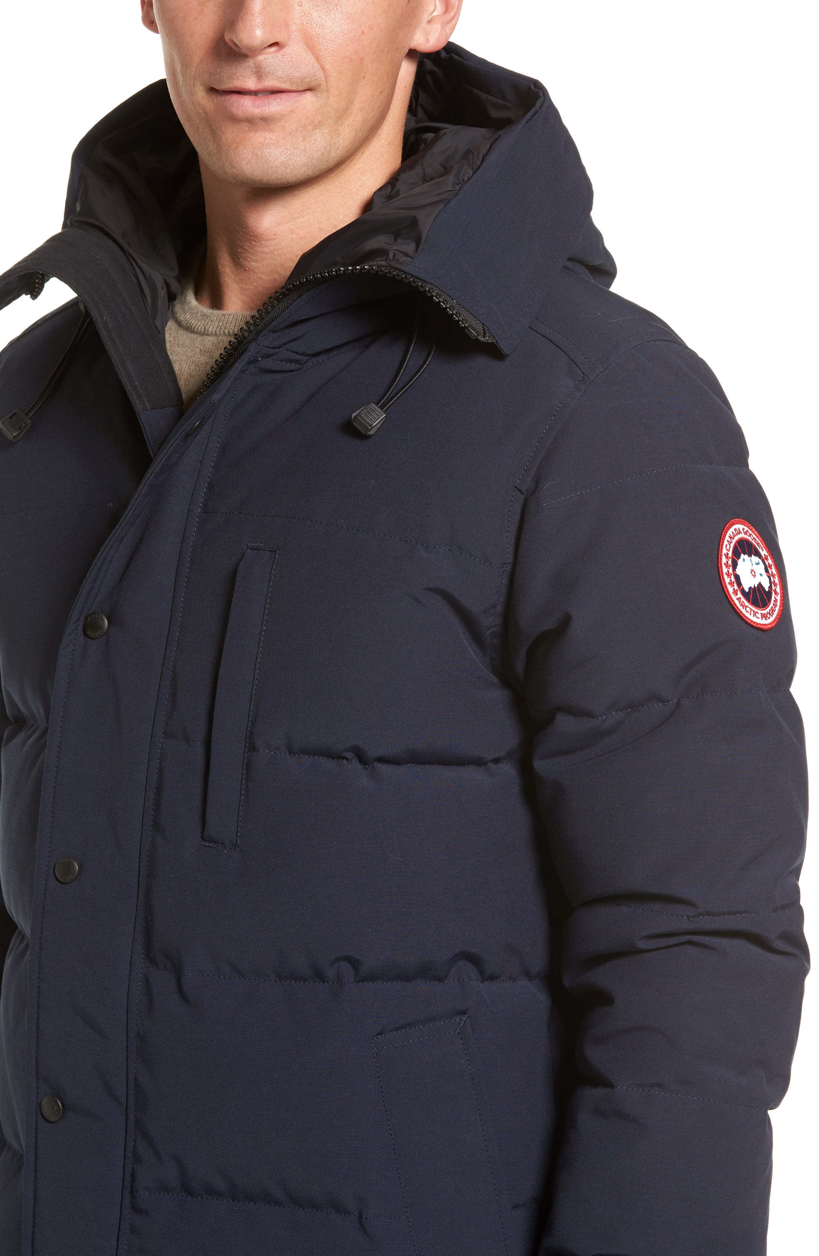Alternate Image 4  - Canada Goose 'Carson' Slim Fit Hooded Packable Parka with Genuine Coyote Fur Trim