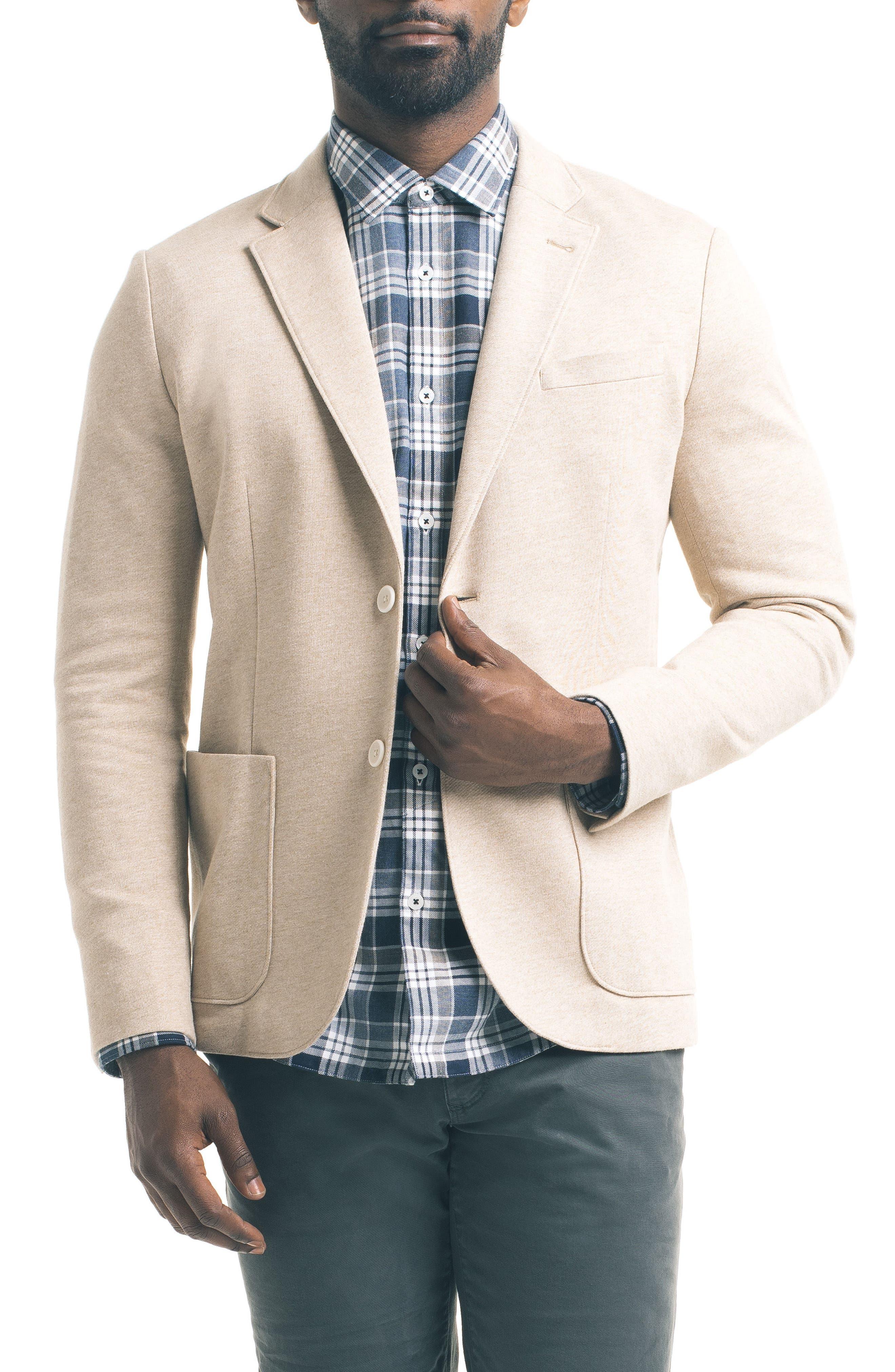 Main Image - Good Man Brand Slim Fit Knit Blazer