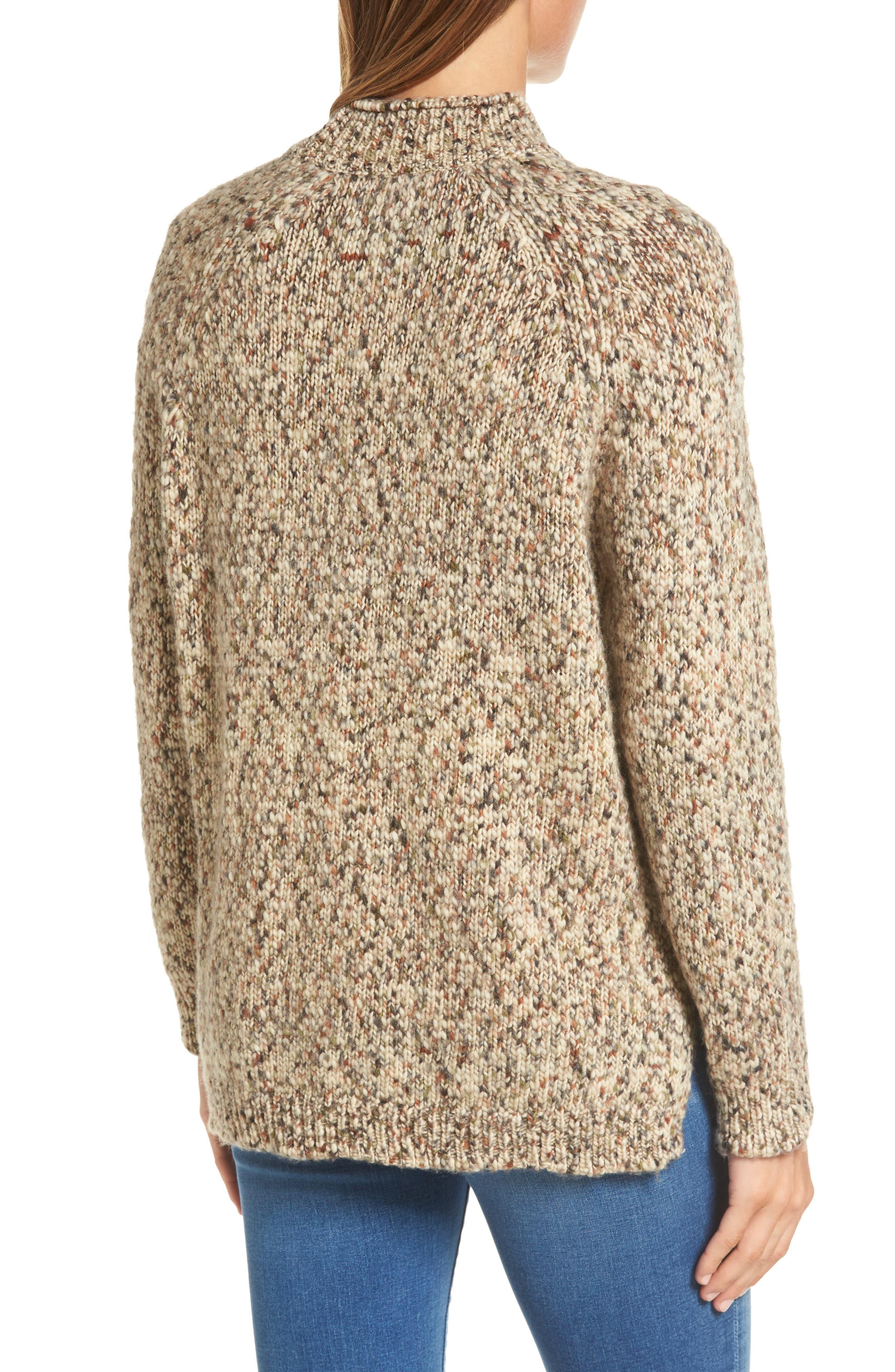 Alternate Image 3  - Barbour Jane Funnel Neck Wool Sweater