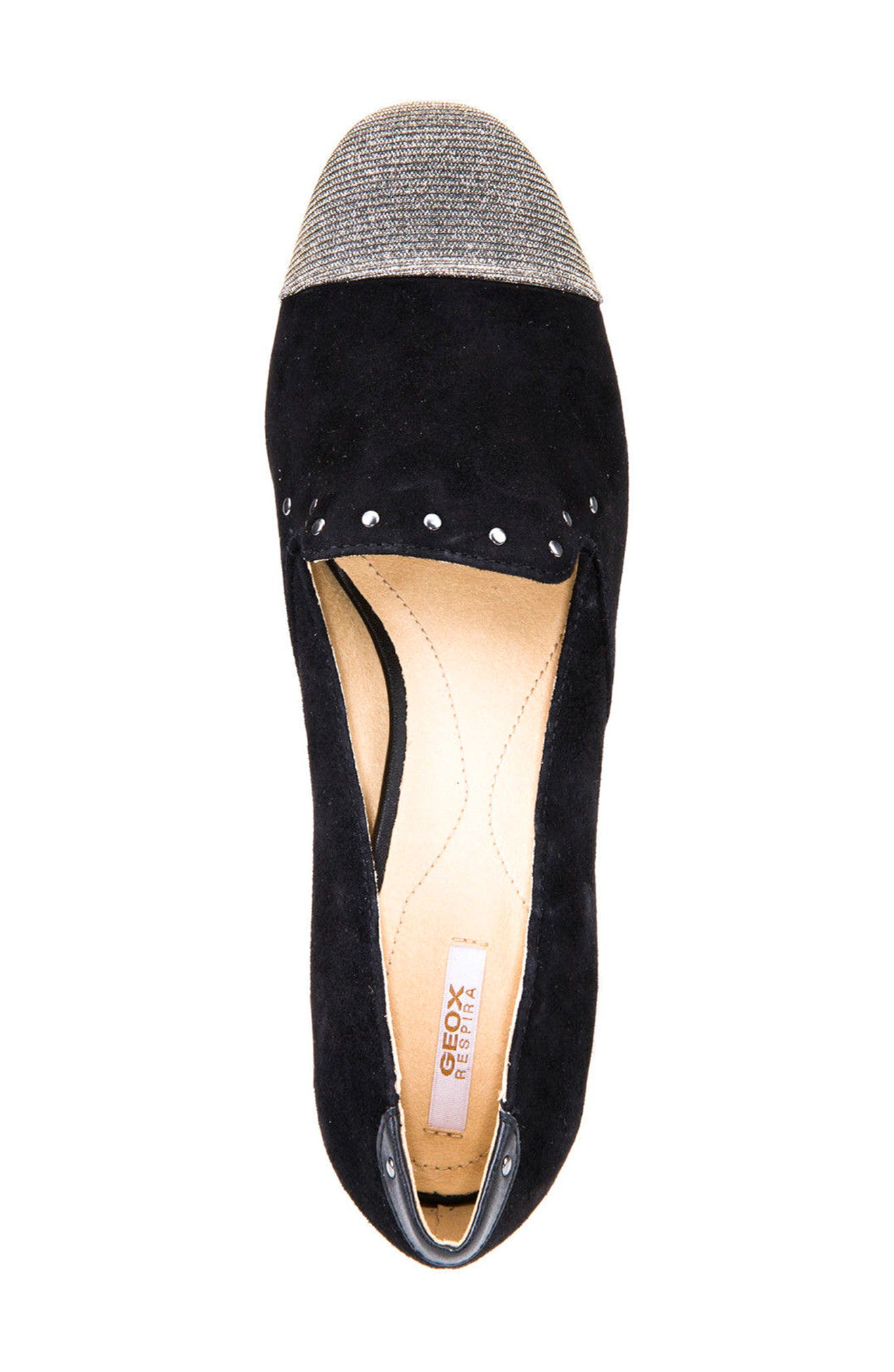 Alternate Image 5  - Geox Wistrey Cap Toe Loafer (Women)