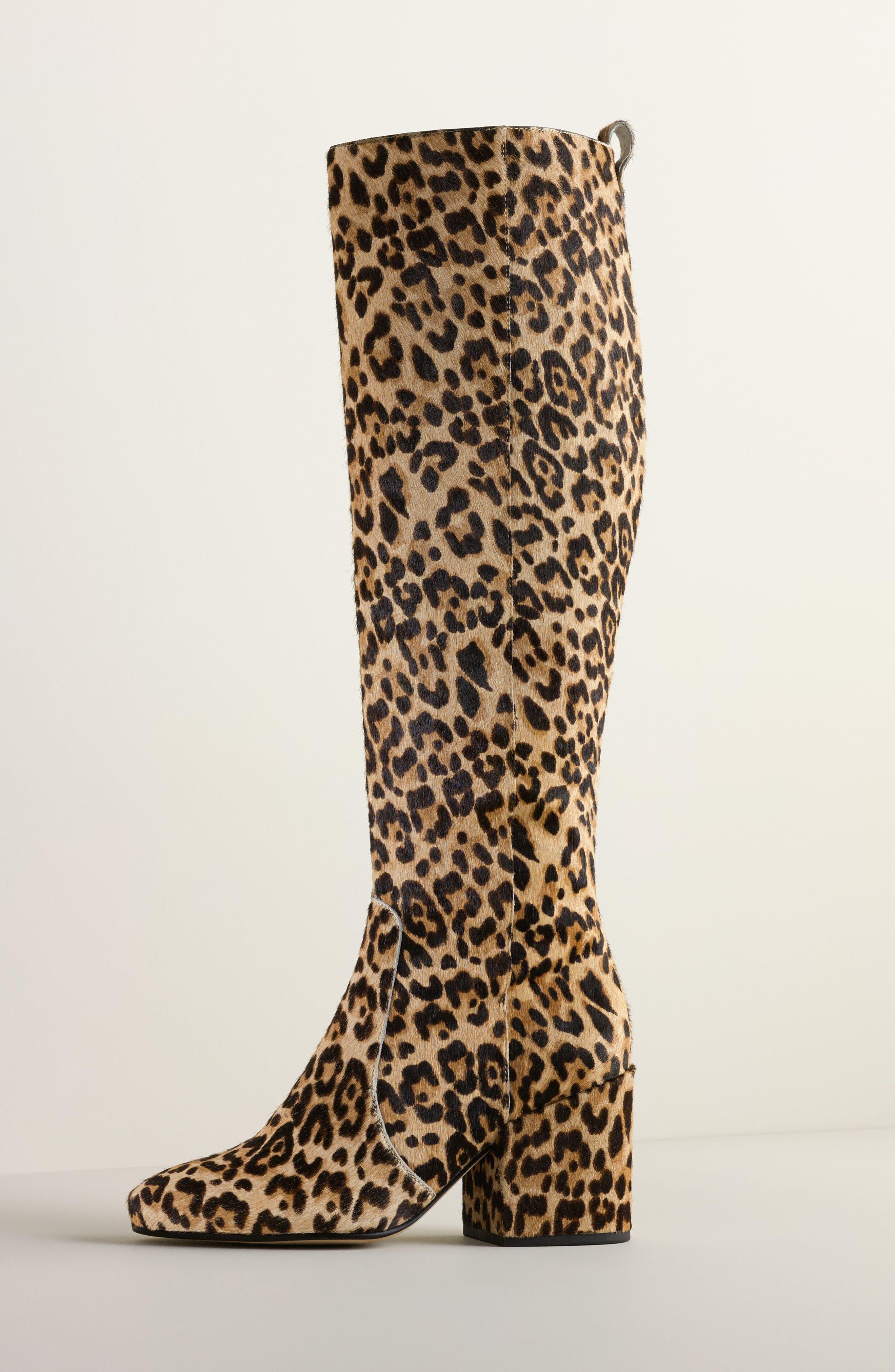Alternate Image 7  - Sam Edelman Thora Genuine Calf Hair Knee High Boot (Women)