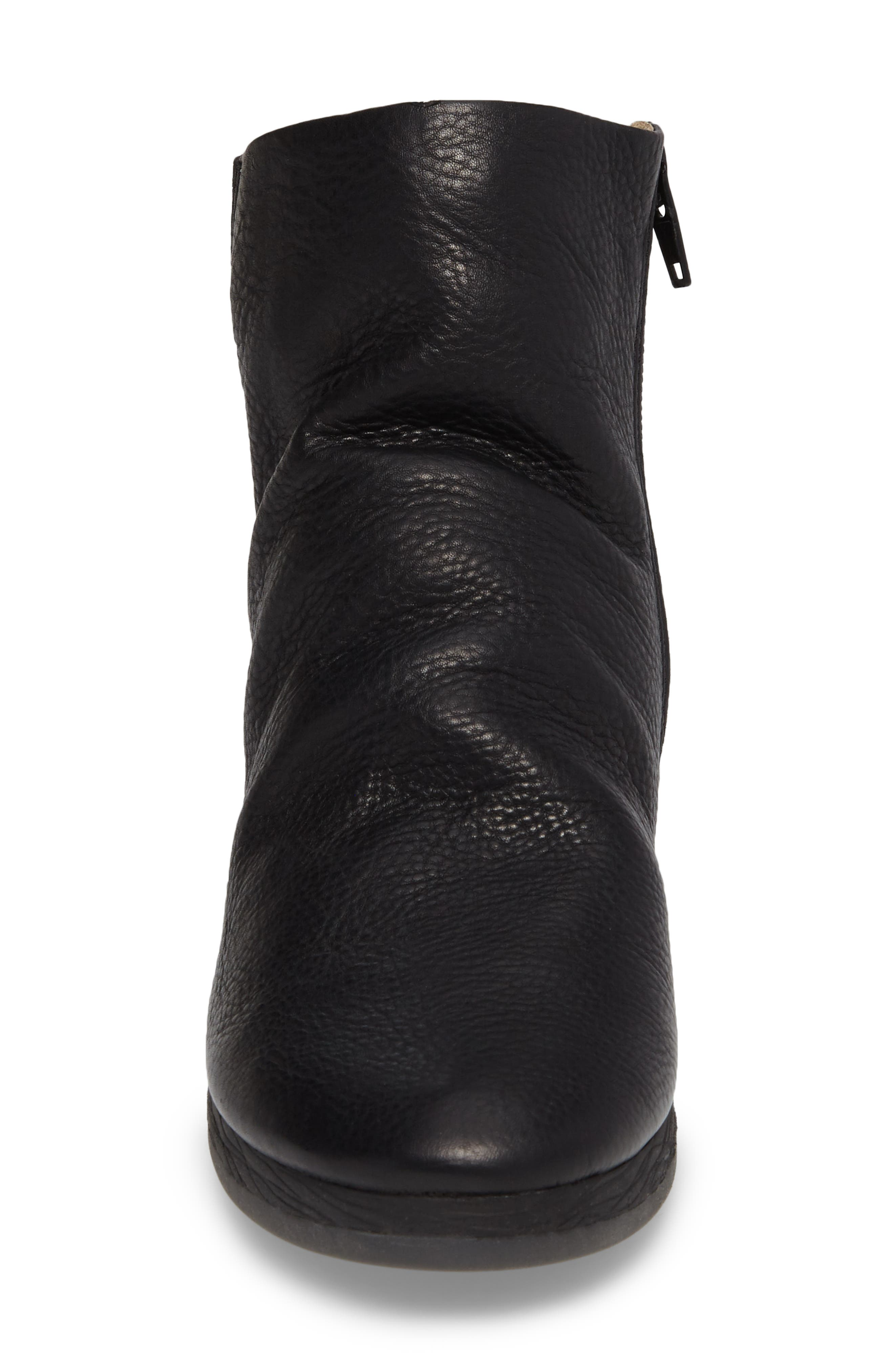 Alternate Image 4  - Softinos by Fly London Ayo Low Wedge Bootie (Women)