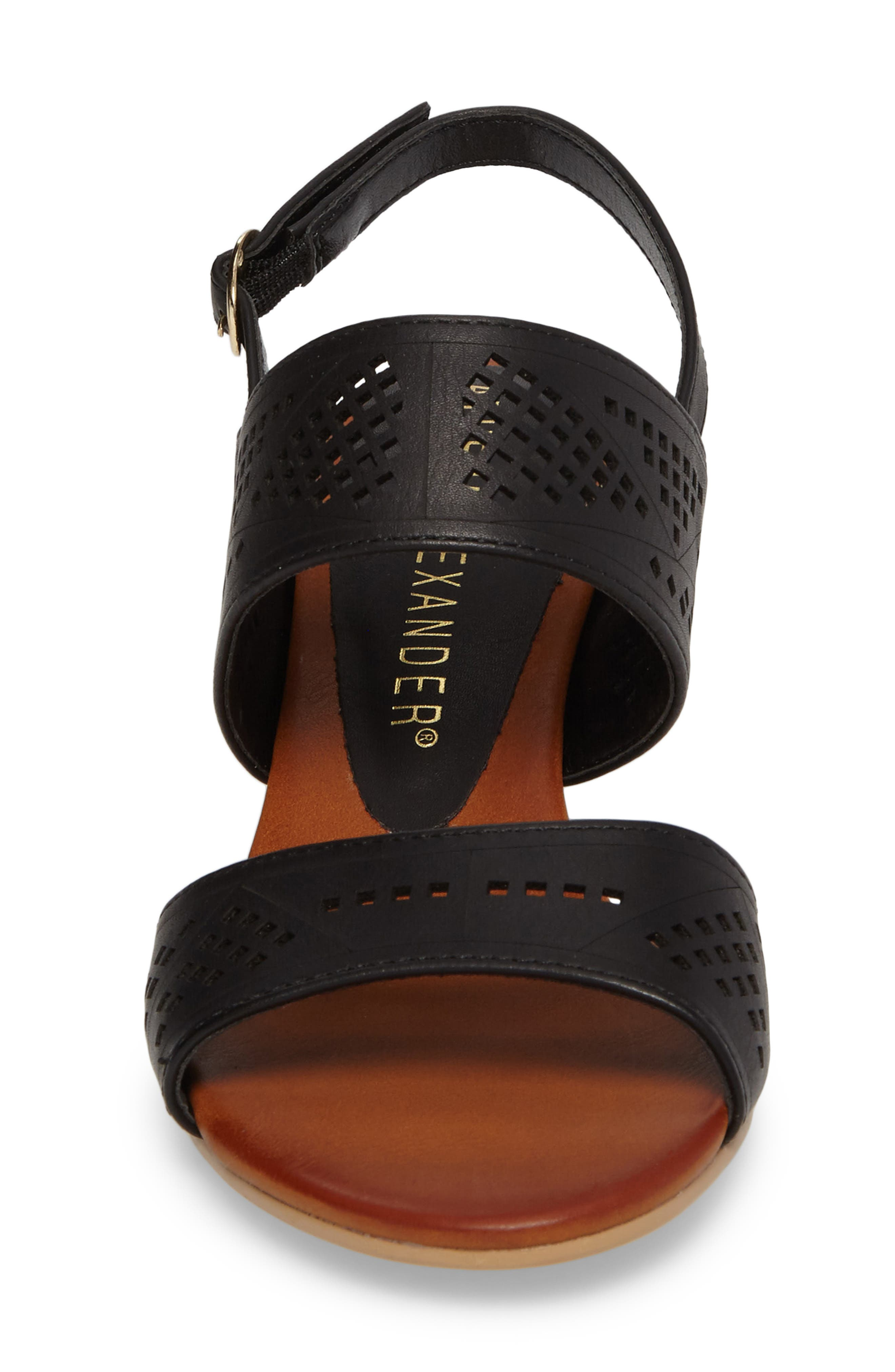 Alternate Image 4  - Athena Alexander Sparce Perforated Wedge Sandal (Women)