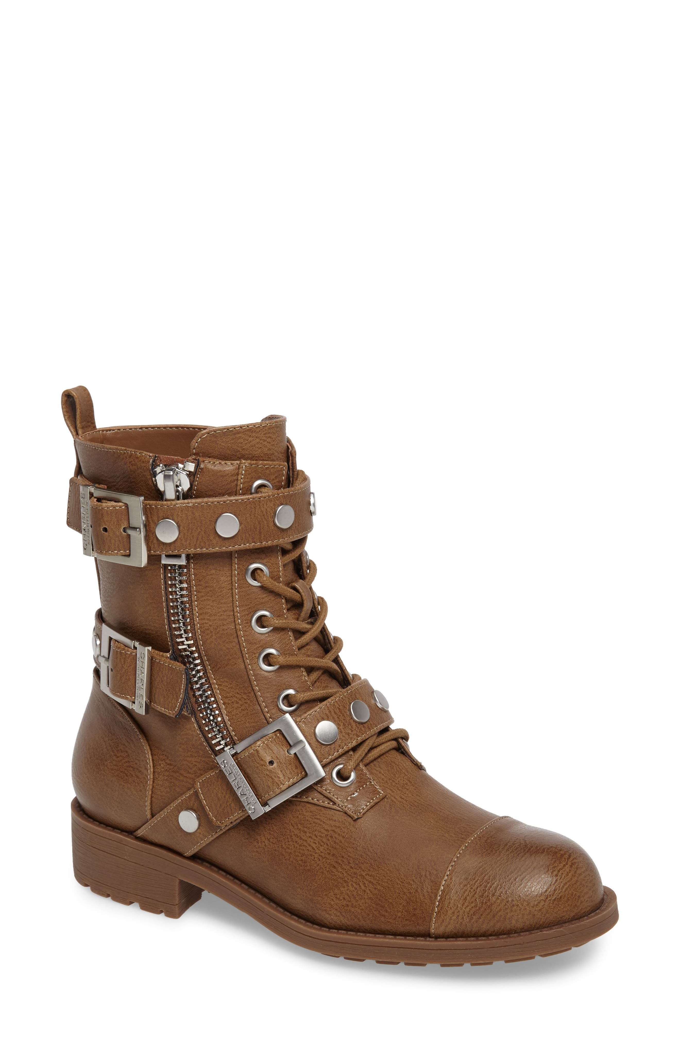 Colt Boot,                         Main,                         color, Dark Taupe Pebble