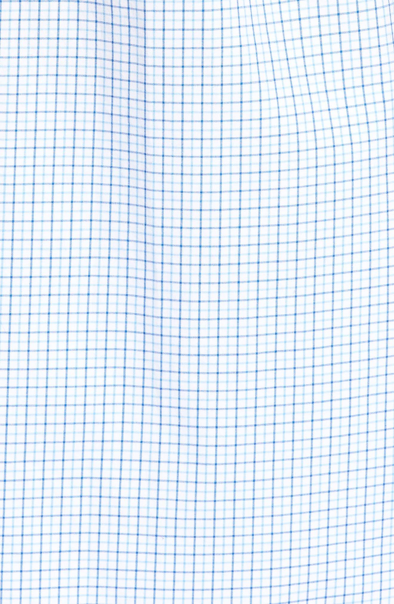 Alternate Image 5  - vineyard vines Twin Pond Classic Fit Tattersall Check Sport Shirt